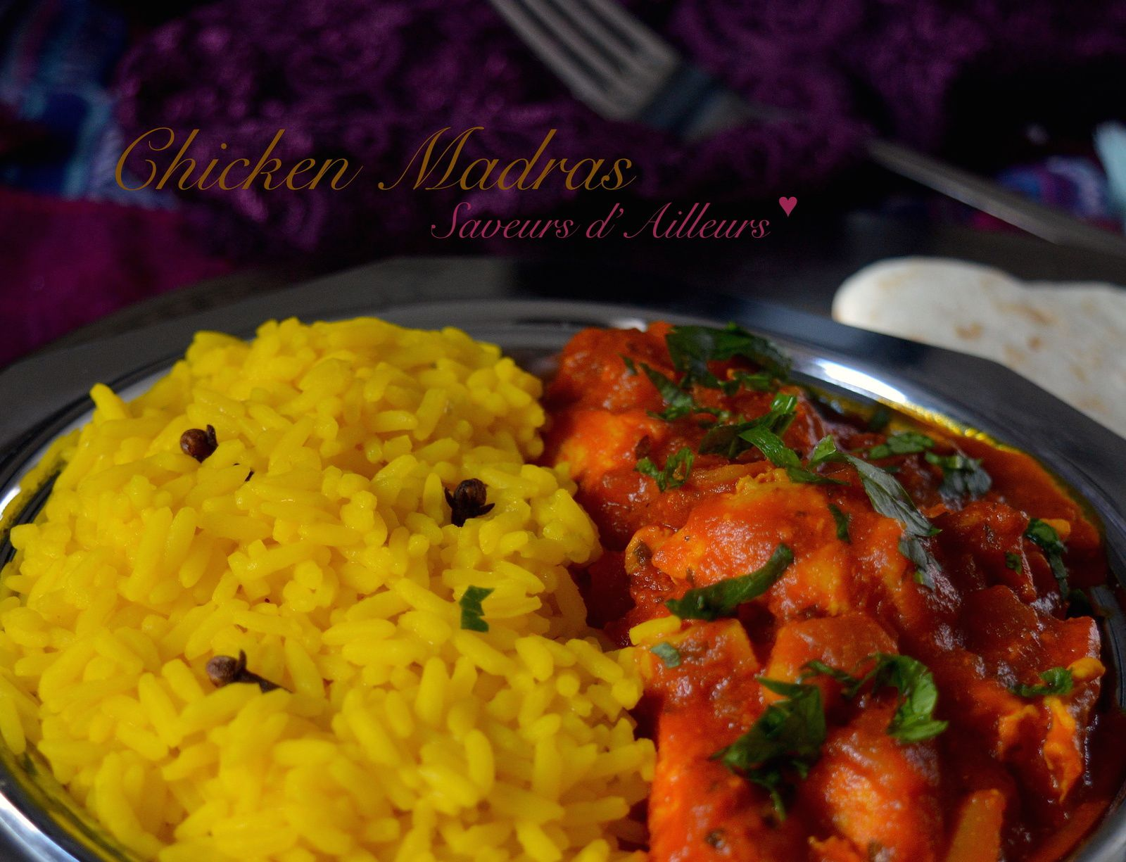 Sur un air de Bollywood... Chicken Madras
