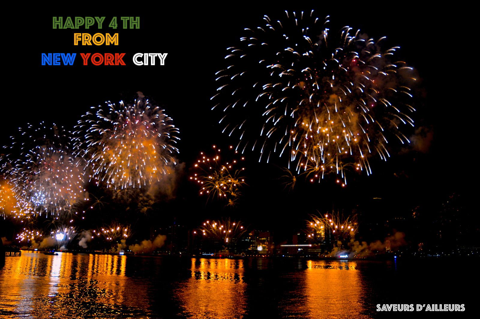 ♥  Independance Day 2018 in New York City