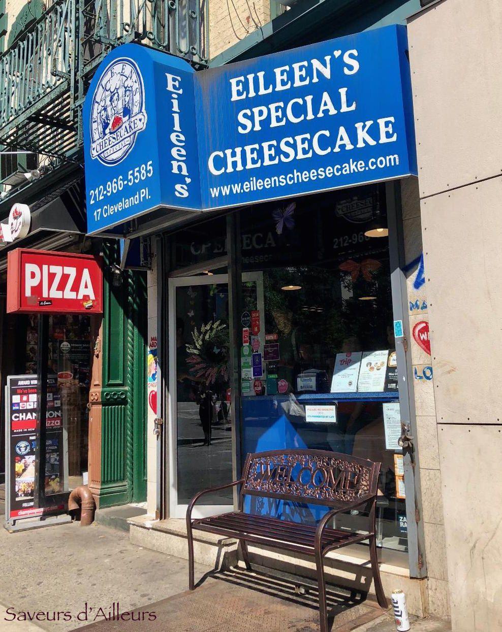 Le Meilleur Cheesecake de New York !