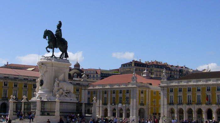 Lisbonne, Praça Do Comércio