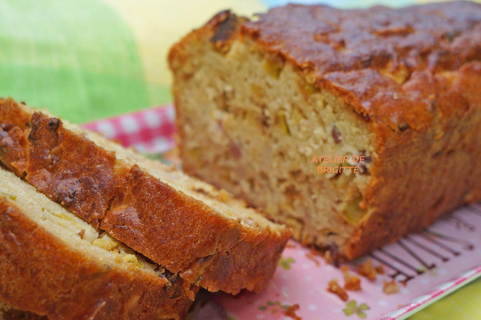 Cake - Courgette - Lardons-