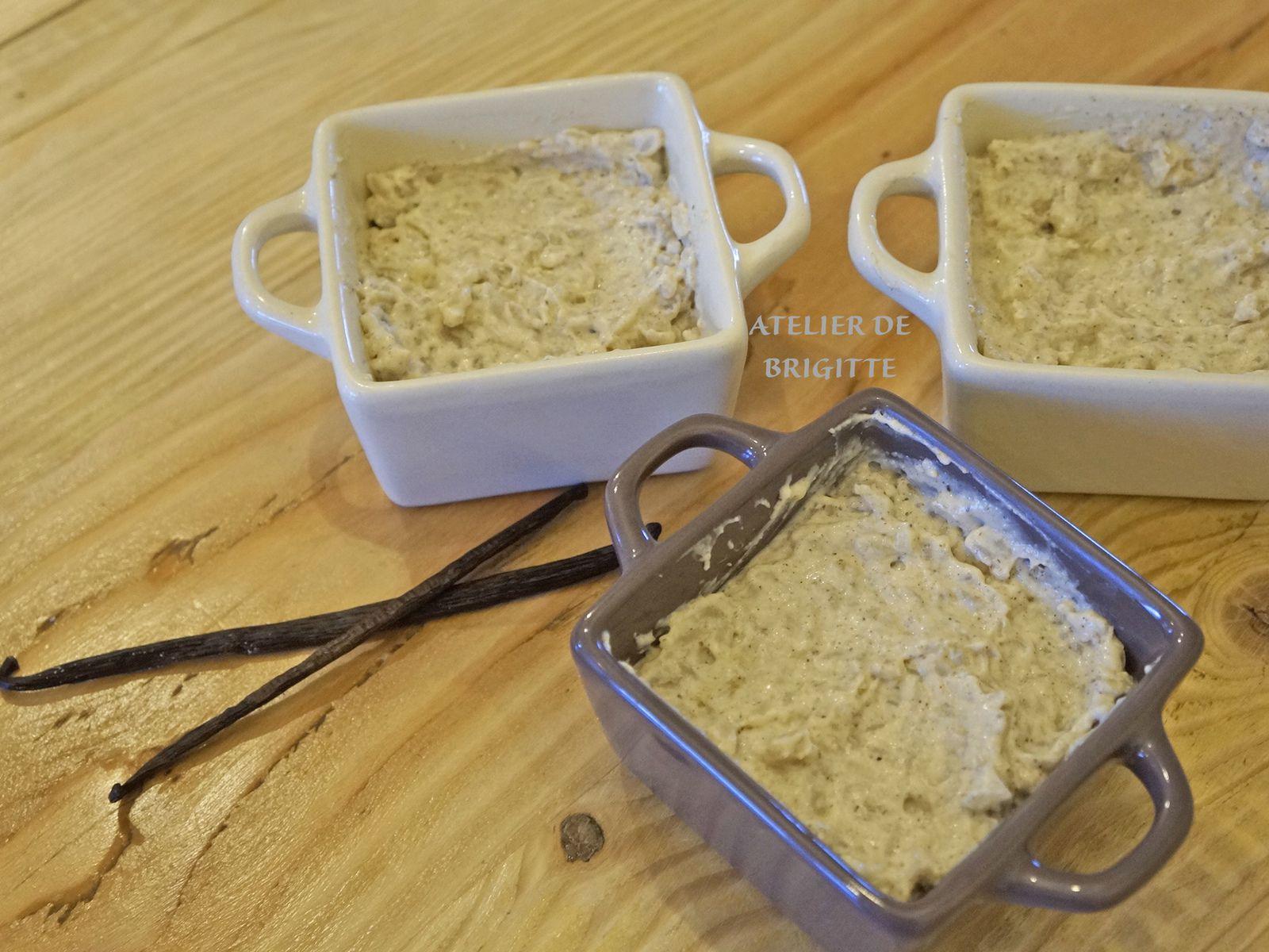 riz au lait, crémeux vanille, laitages, dessert, recette du placard, recette du confinement, #restezchezvous, recette de chef, recette facile