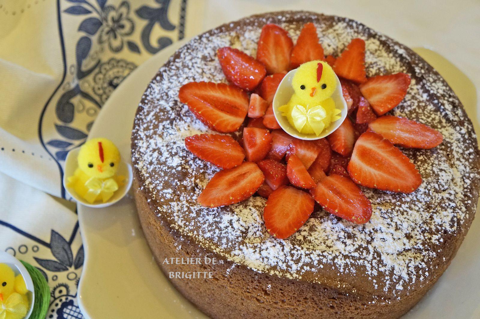 gâteau, crème pâtissière, vanille, dessert, goûter, pause café, tea time,