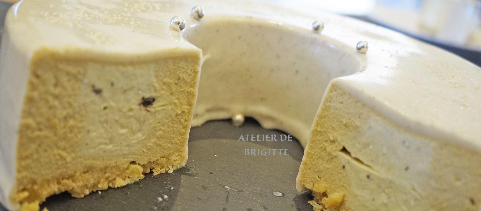 entremet, dessert, vanille, spéculoos, recette de chef, Johan Martin