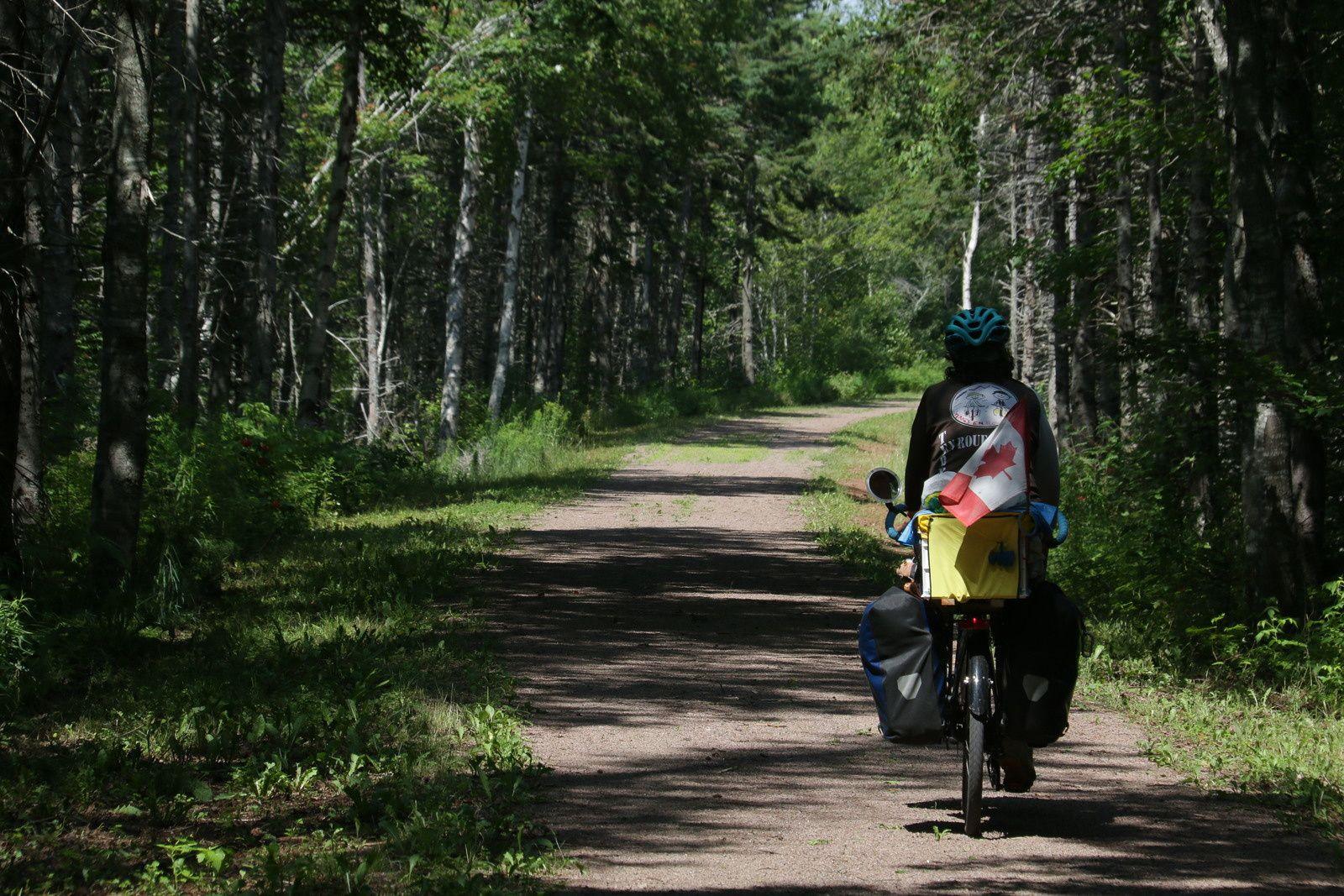 Mai 2019 :  Retour au Québec - Tour des provinces maritimes -