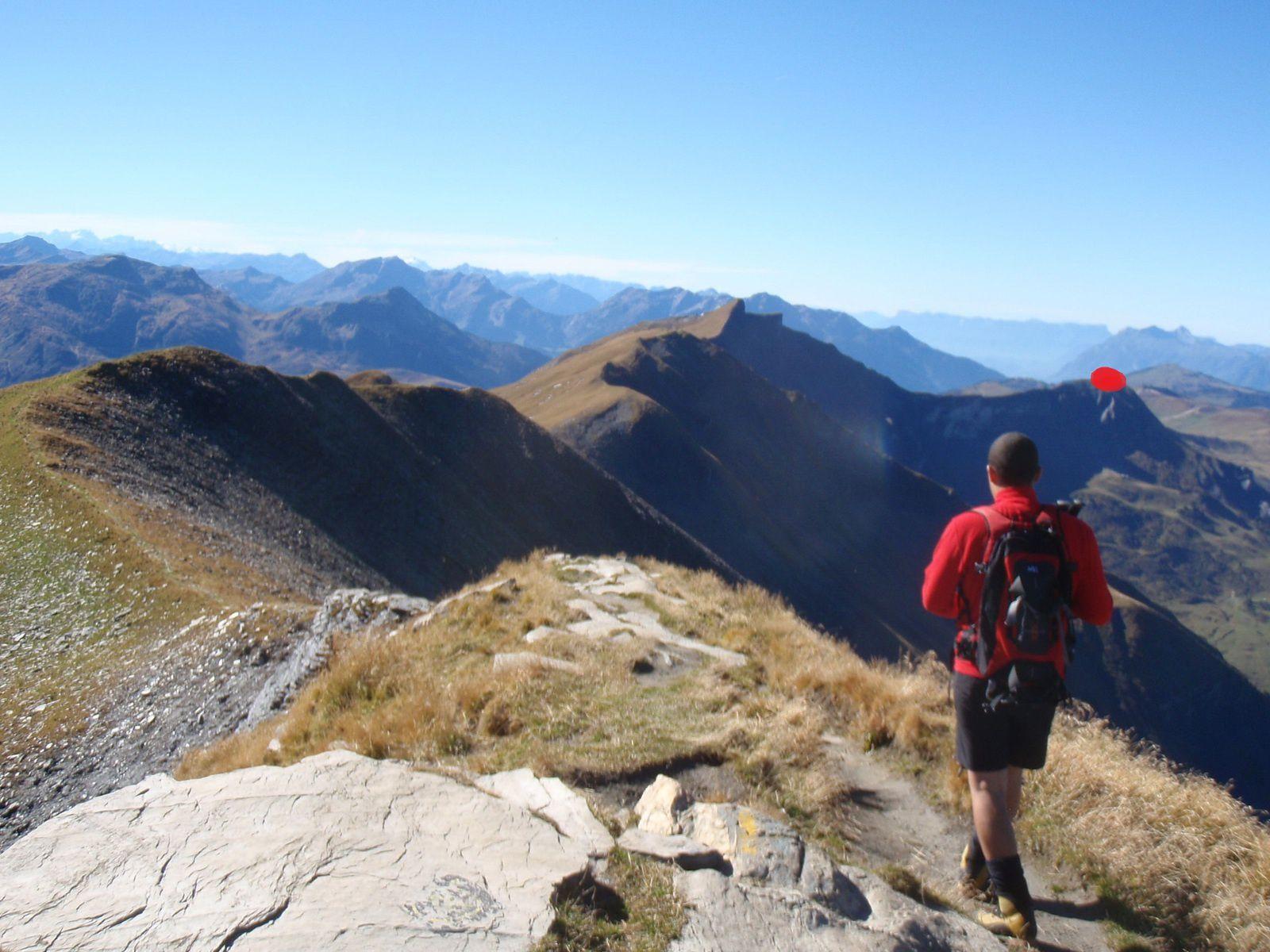 Mont Joly>>>Aiguille Croche (traversée des arêtes)