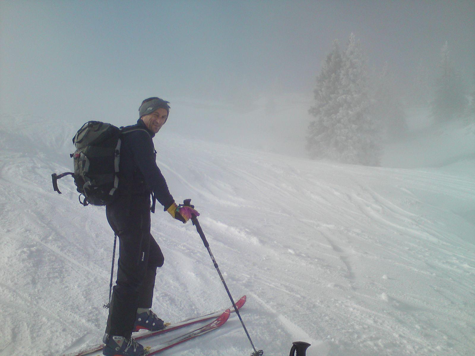 Mont Margeriaz: Par les pistes (version 01/2015)