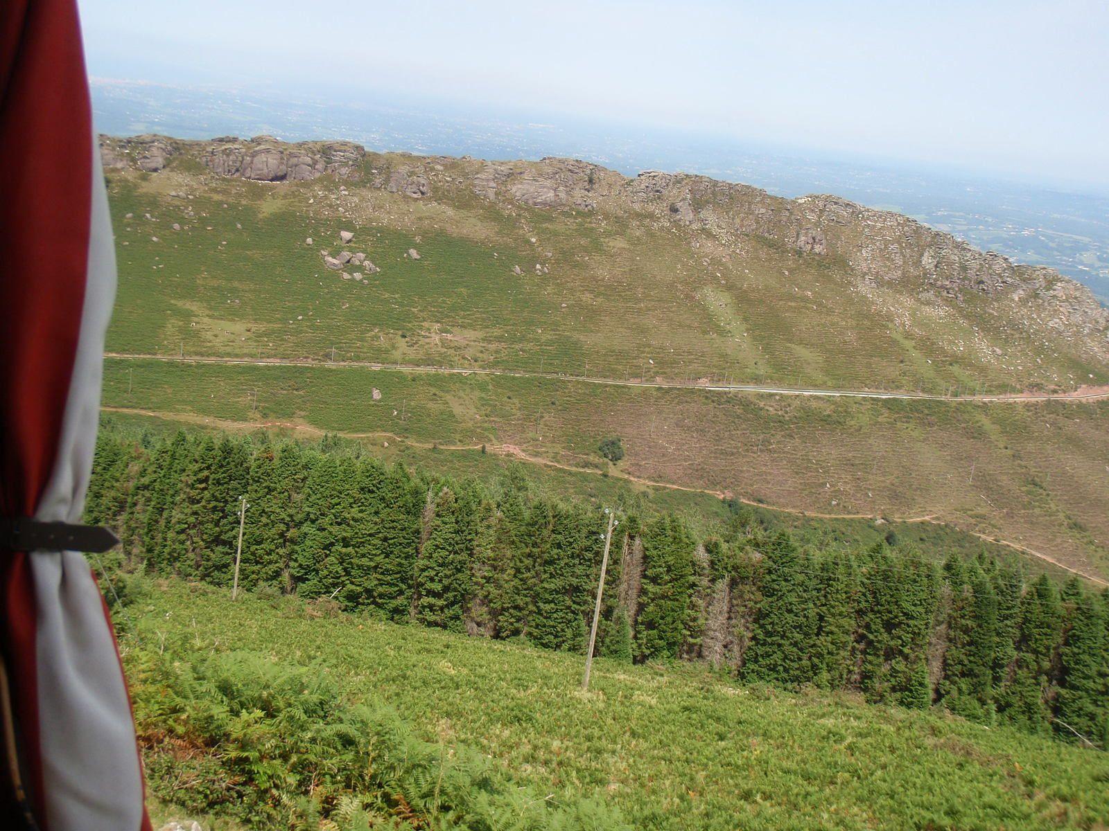 La Rhune: Depuis le Col de St Ignace