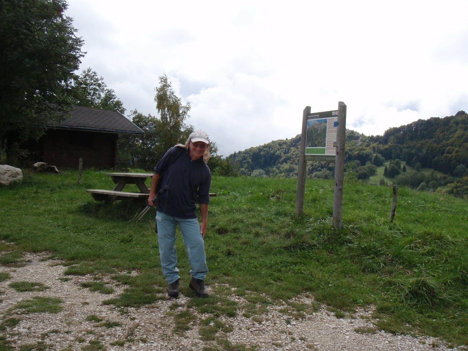 Aiguille de Montaubert: VN depuis la Molloire