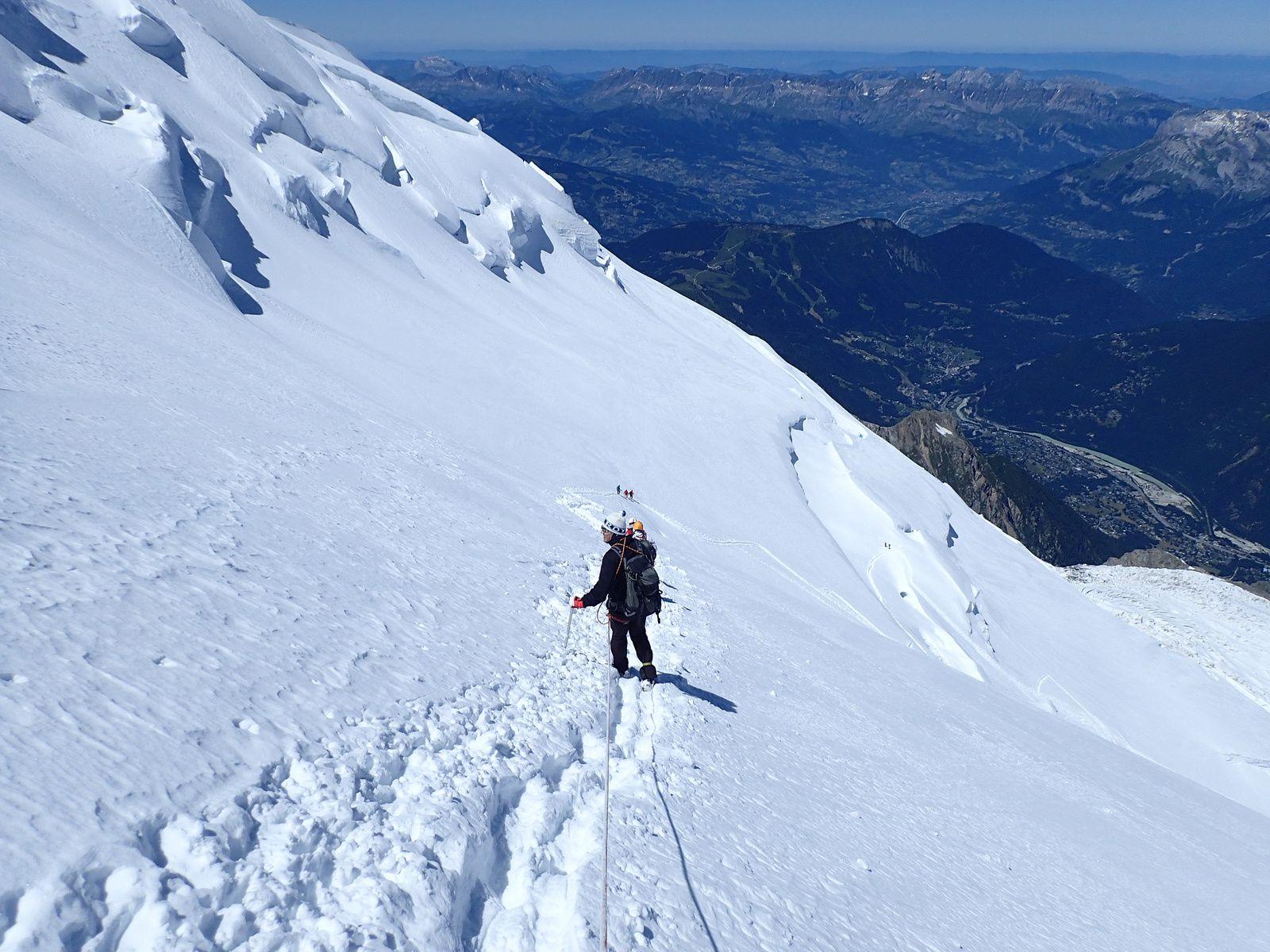 Mont-Blanc du Tacul: Voie normale 2/2