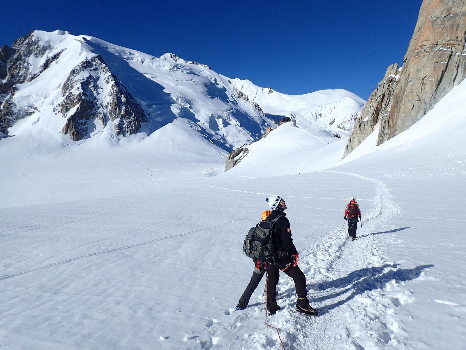 Mont-Blanc du Tacul: Voie normale 1/2