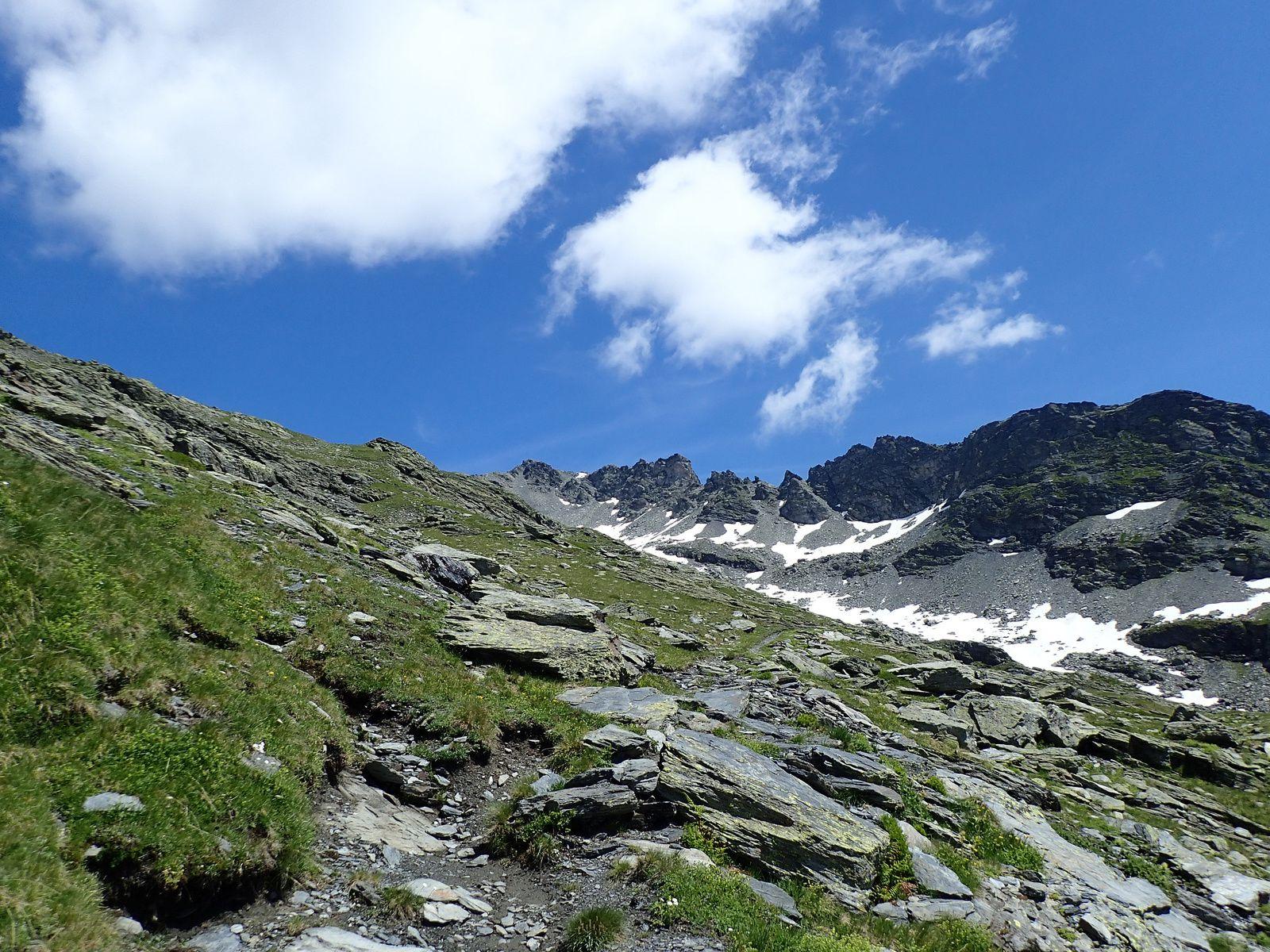 Mont Valezan: Arête W par le Col de la Traversette