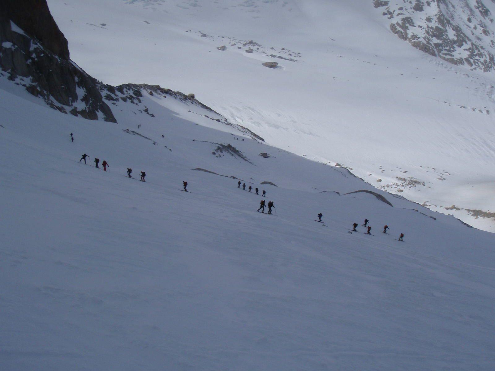Le Col du Chardonnet (les 3 Cols)