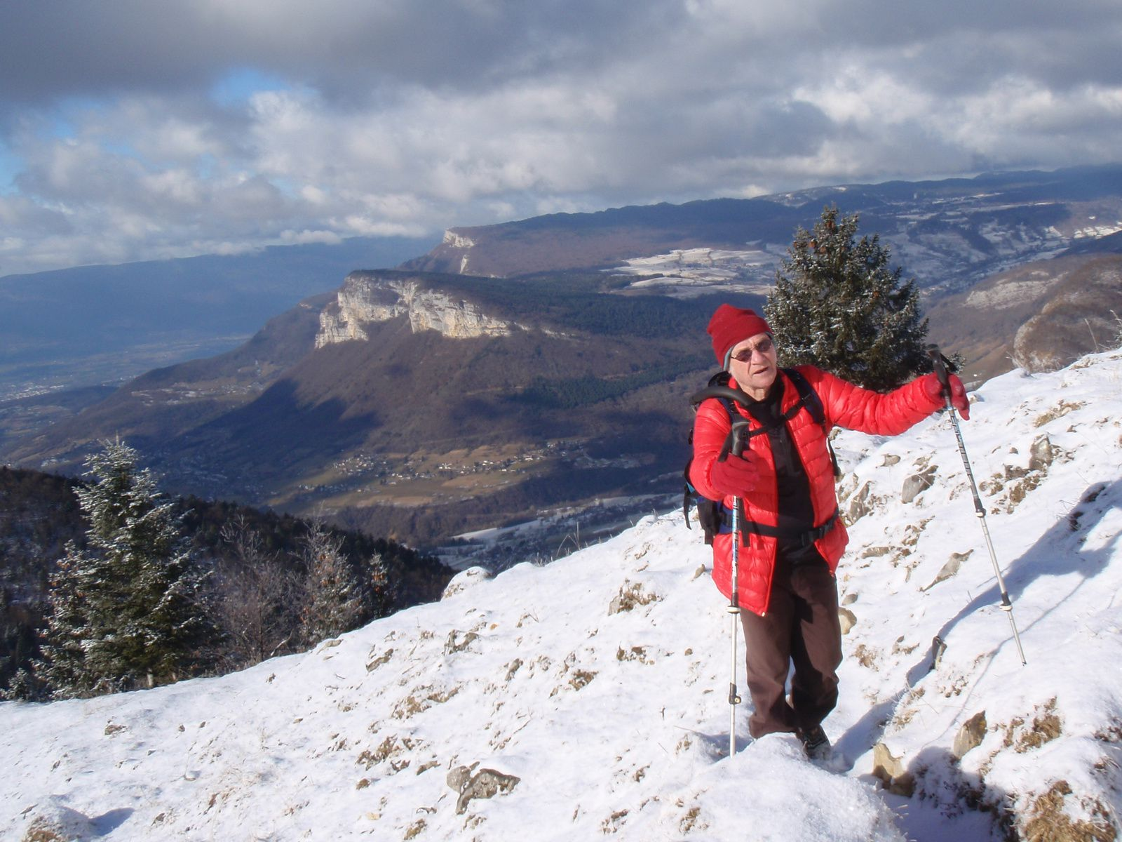 Grand Roc>Pointe de la Galoppaz>Pic de la Sauges: En boucle depuis le Fournet 1/2