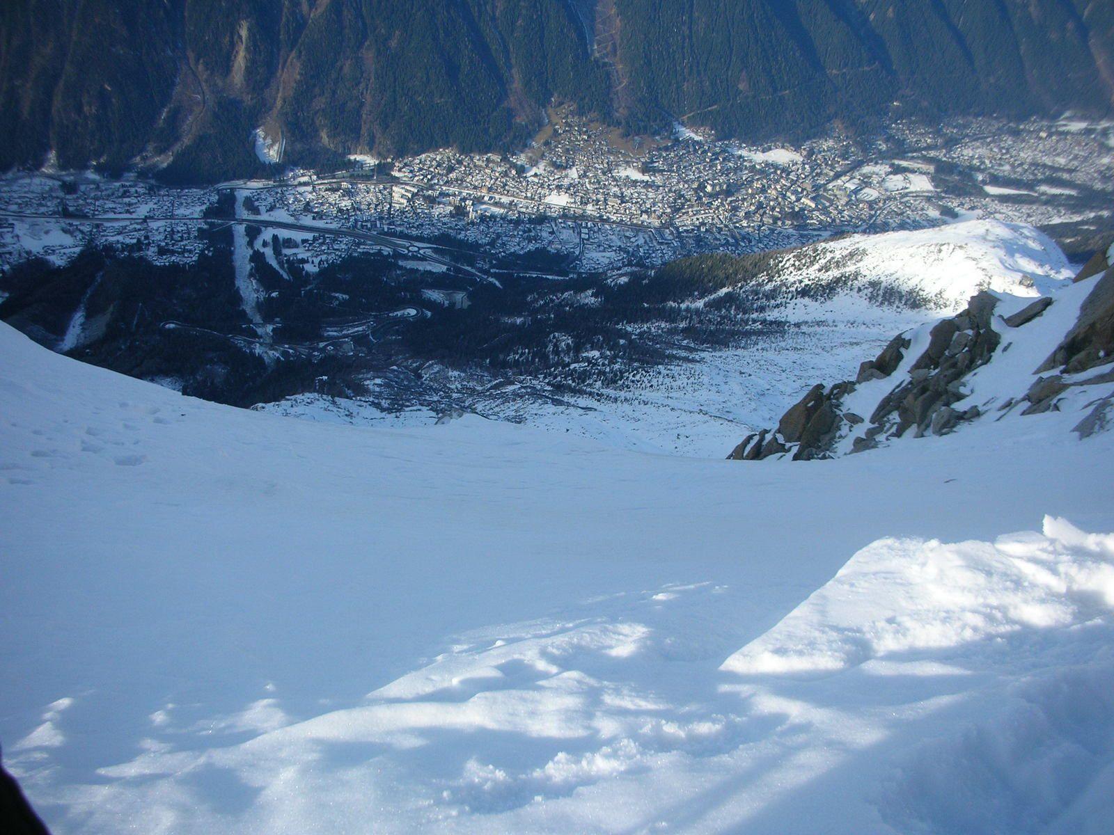 Aiguille du Midi: Voie Carli-Chassagne