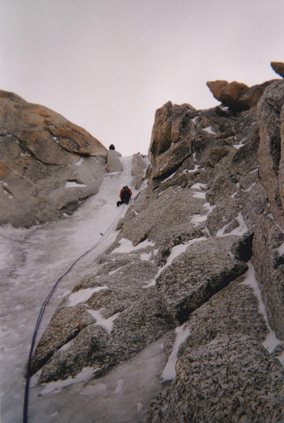 Mont-Blanc du Tacul: Goulotte Chéré