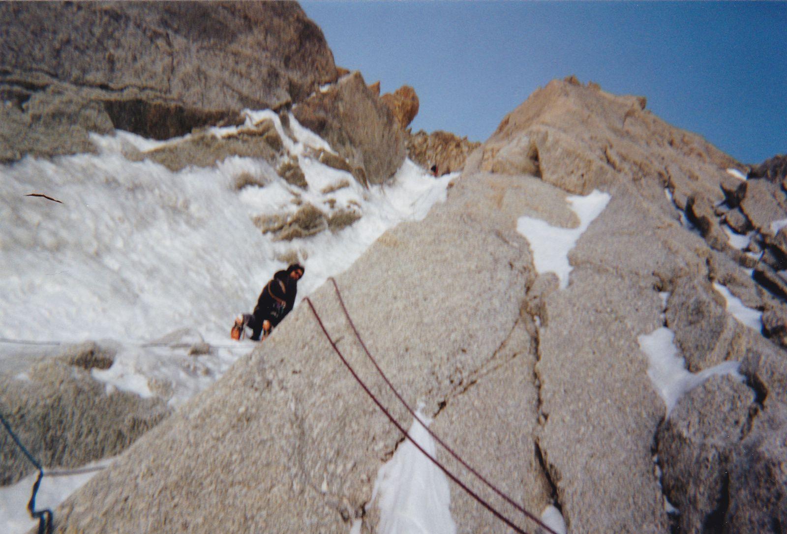 Mont-Blanc du Tacul: Goulotte Lafaille