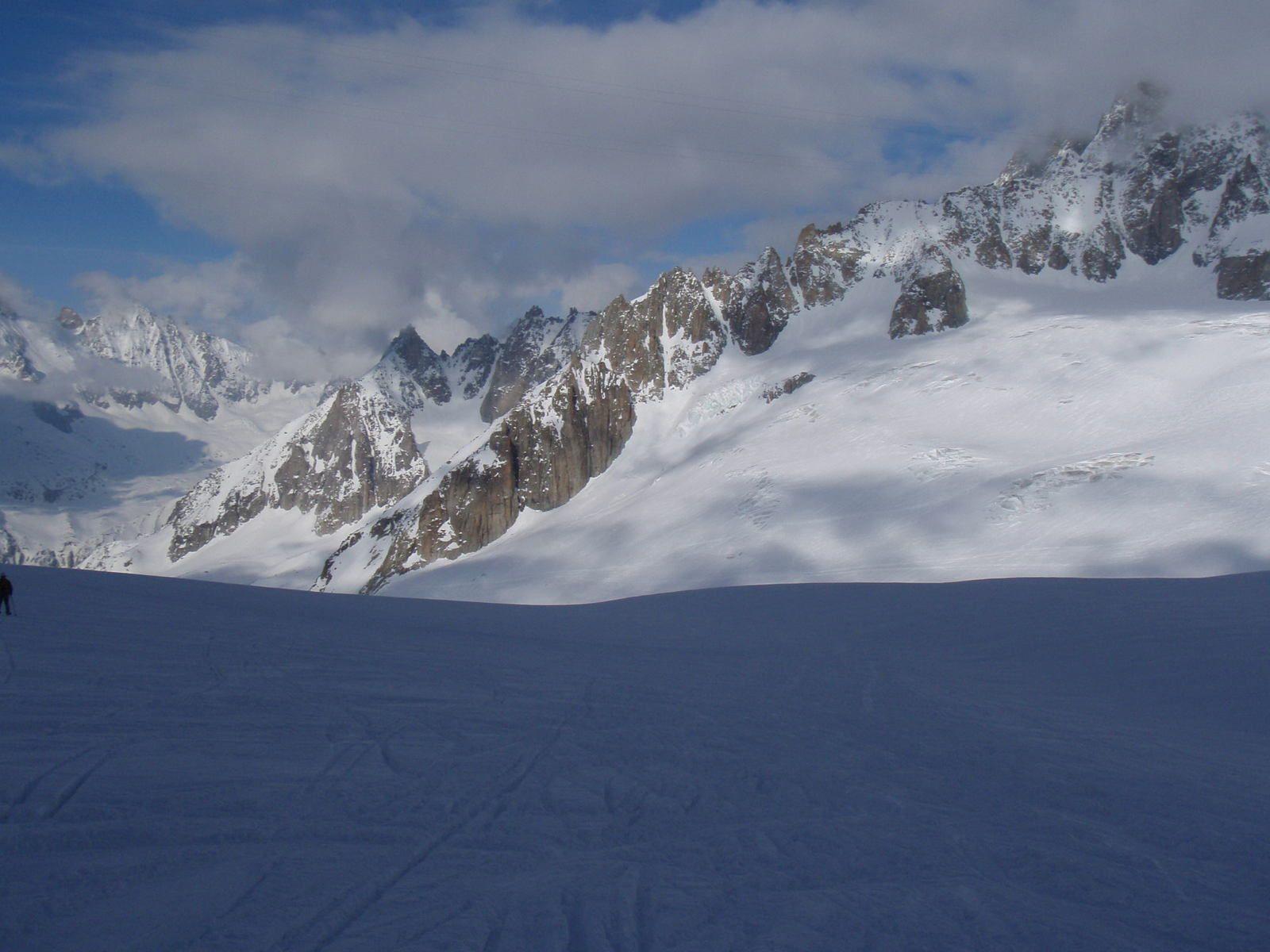 Mont-Blanc du Tacul: Goulotte Gabarrou-Albinoni