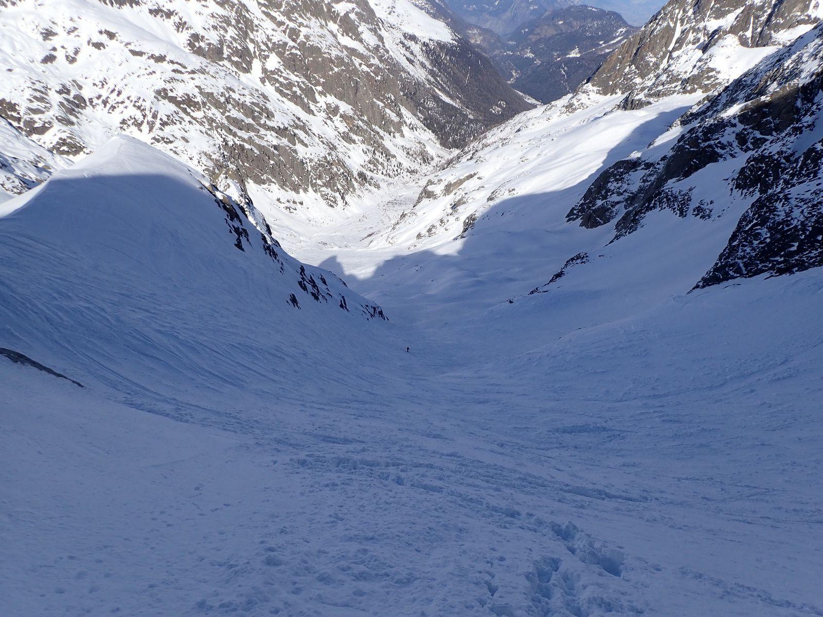 Pointe Alphonse Favre: Glacier du Mort depuis le Buet 2/2