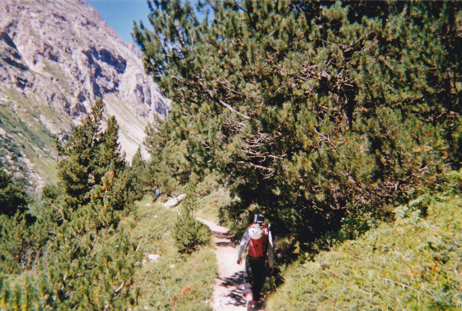 Mont Gioberney: Versant E puis arête S (voie normale)