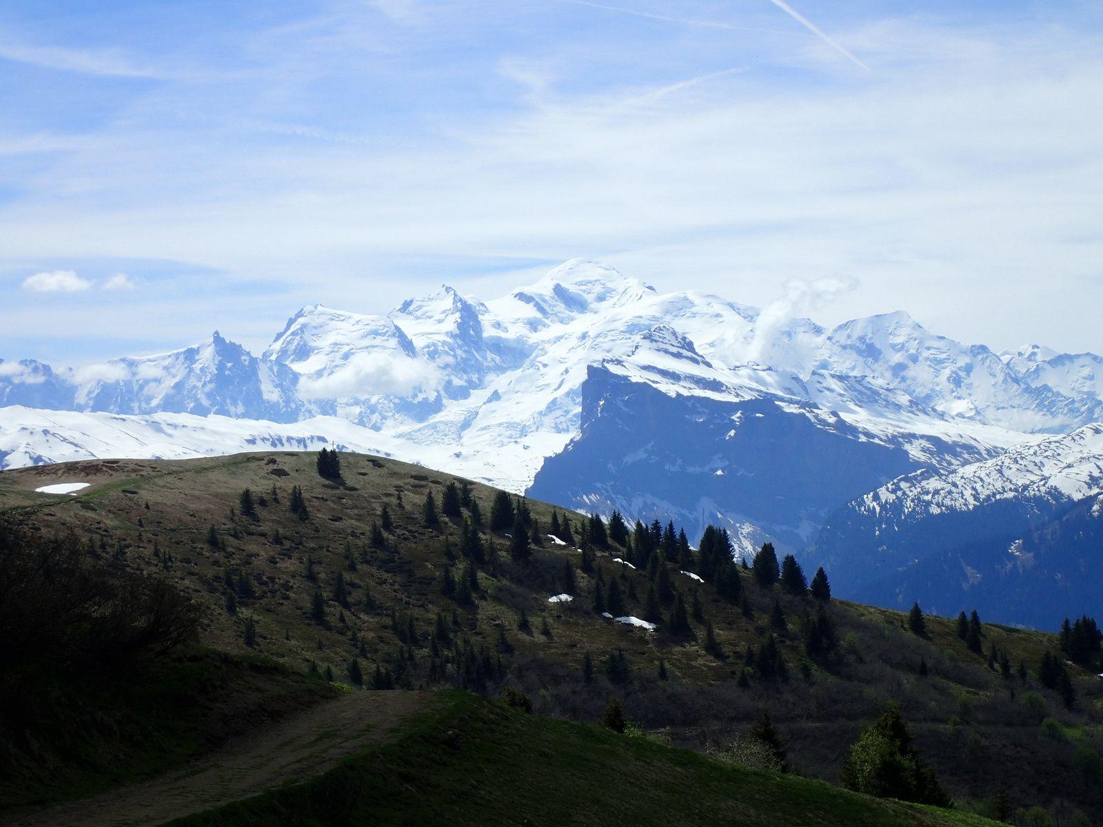 La Bourgeoise: Depuis le Col de Joux Plane