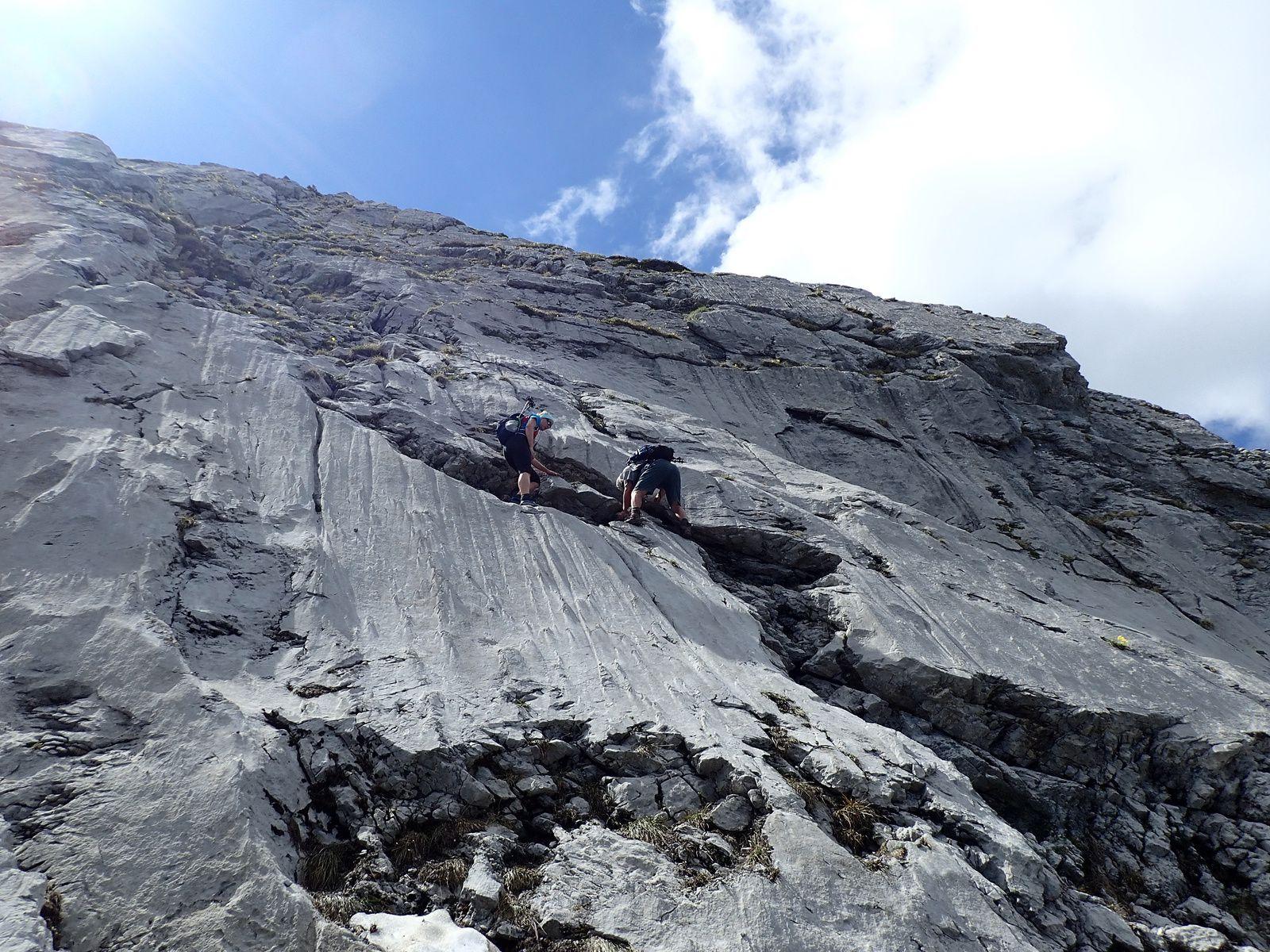 Pointe d'Arcalod: Depuis Préchérel Via Trés le Mollard et Mont de la Coche 2/2