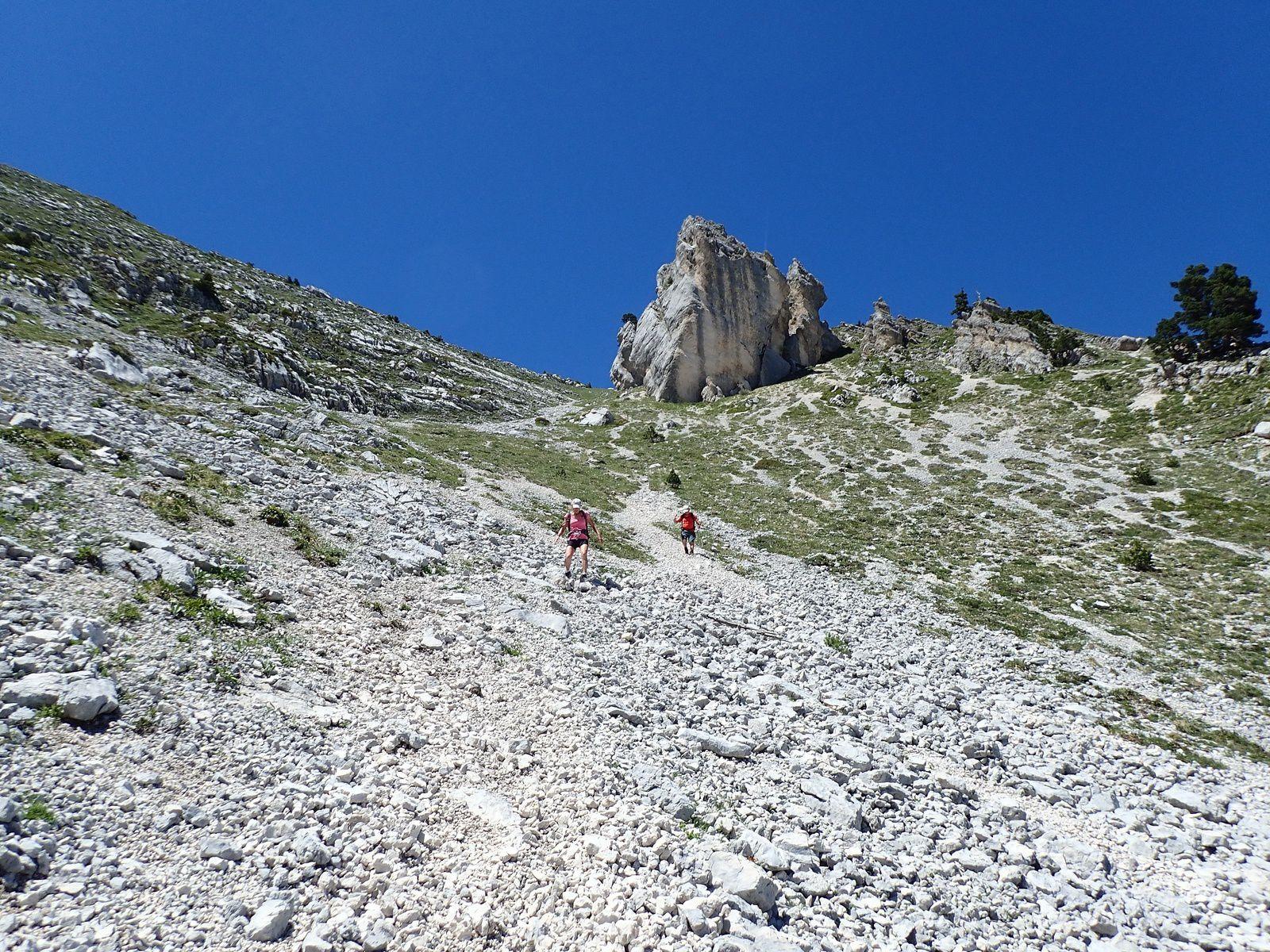 Dôme de Bellefond: Arête nord + Lance sud de Malissard 2/2