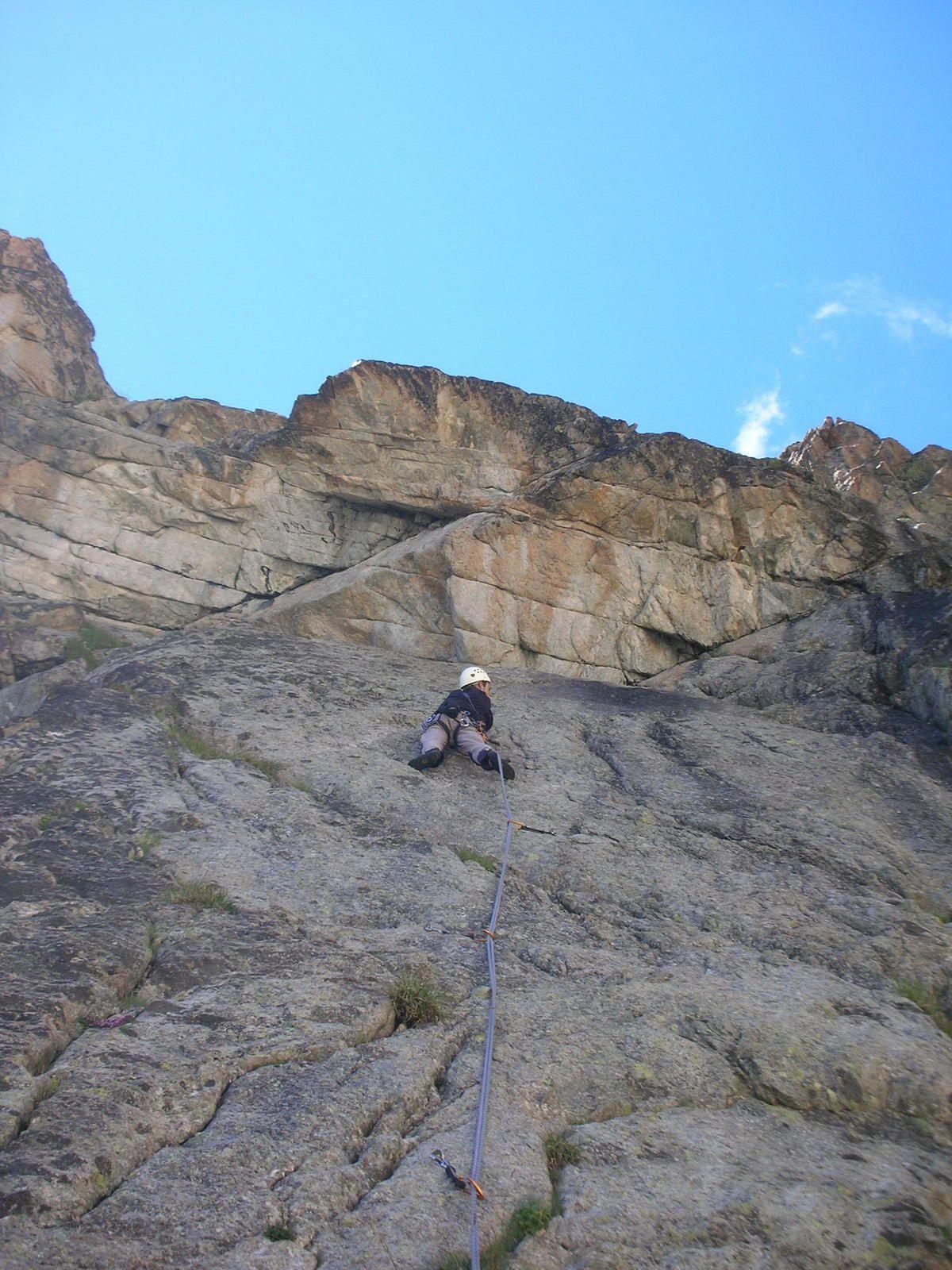 Aiguille Dibona: Contrefort; Speedy