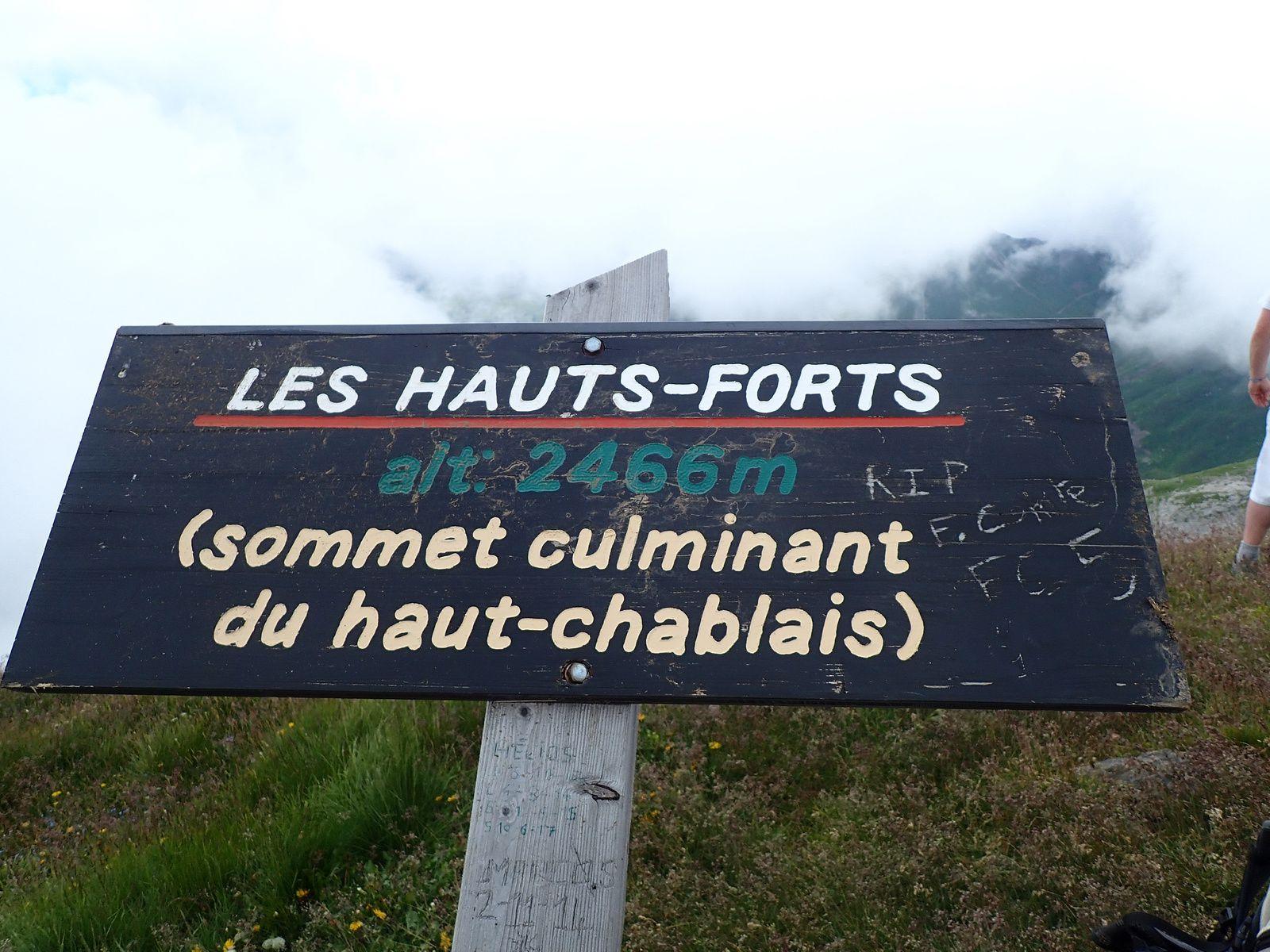 Les Hauts-Forts: Traversée depuis le Col de la Joux Verte 2/2