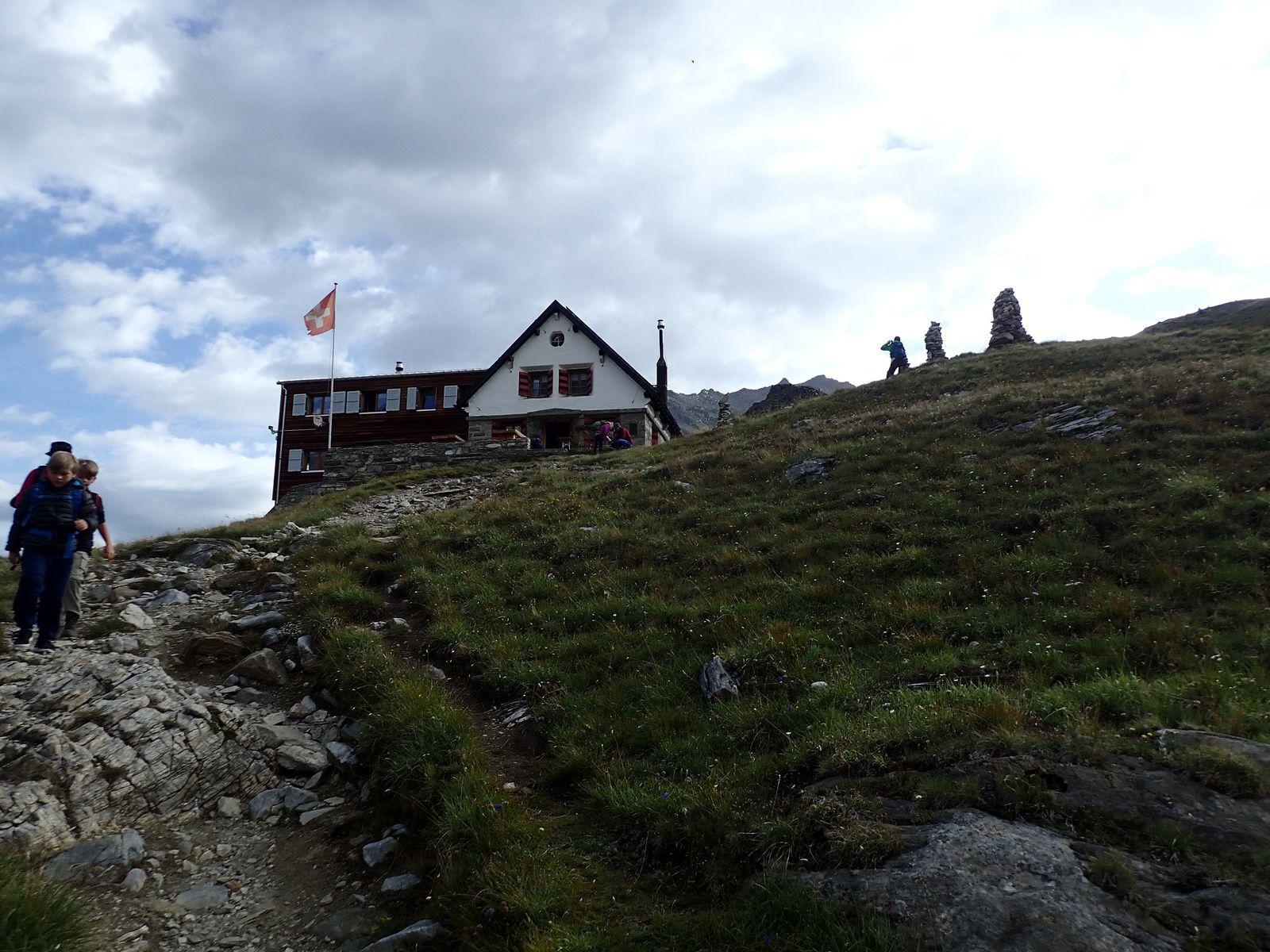 Ussers Barrhorn: Voie normale; versant Ouest et Arête Sud 1/2