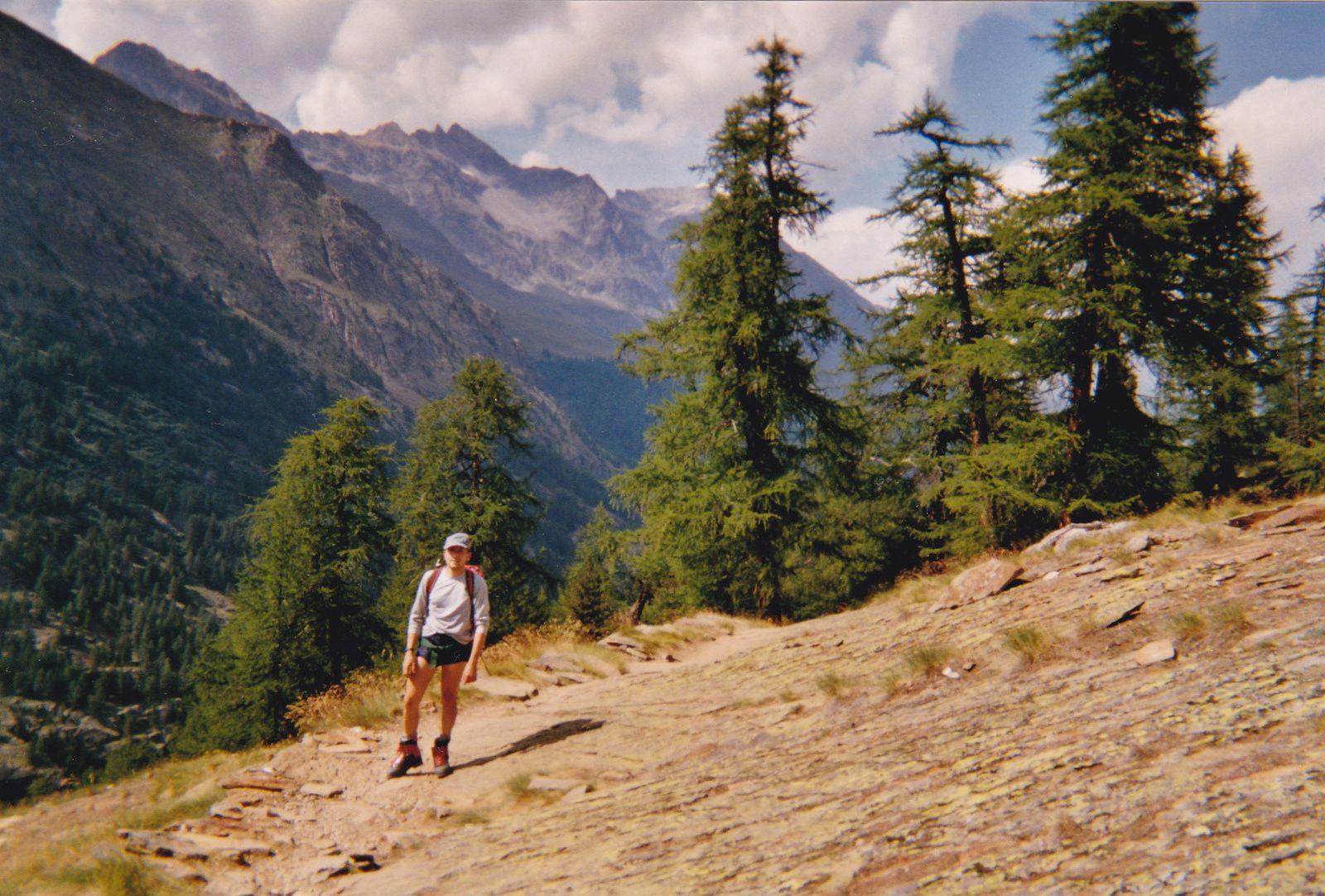 Grand Paradis: Depuis Chabot; Glacier de Laveciau