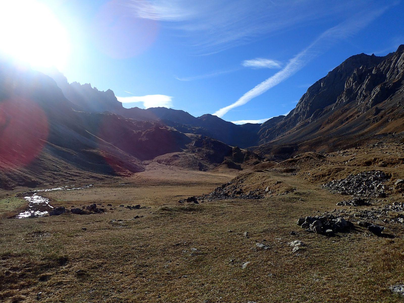 Grand Galibier: Depuis Plan Lachat 1/2