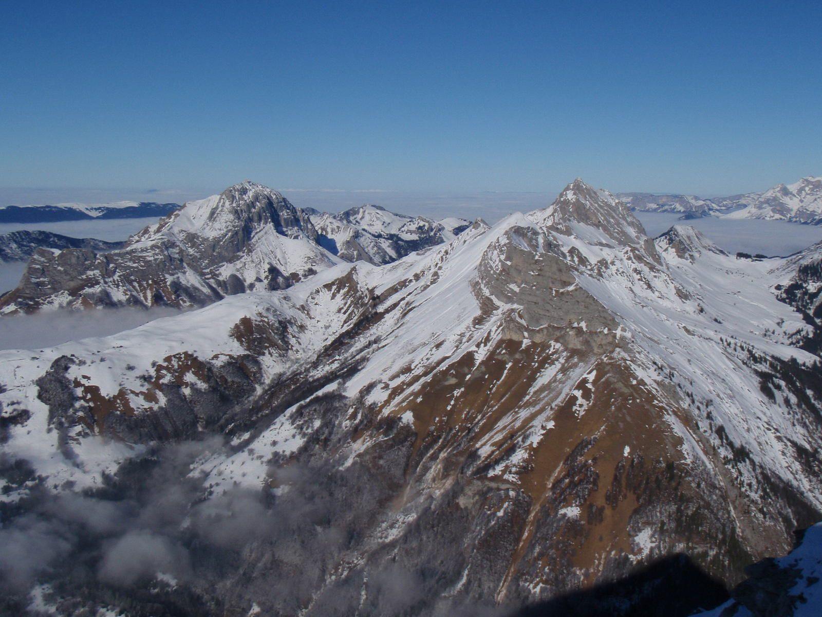 Mont Pécloz: Couloir sud-ouest