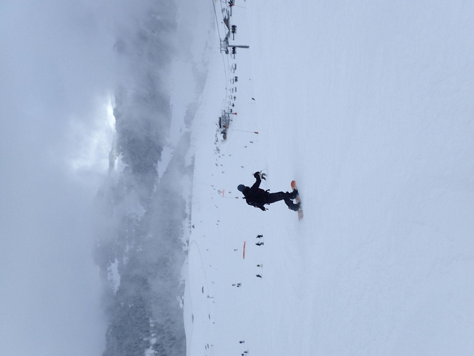 Snowboard à la Clusaz