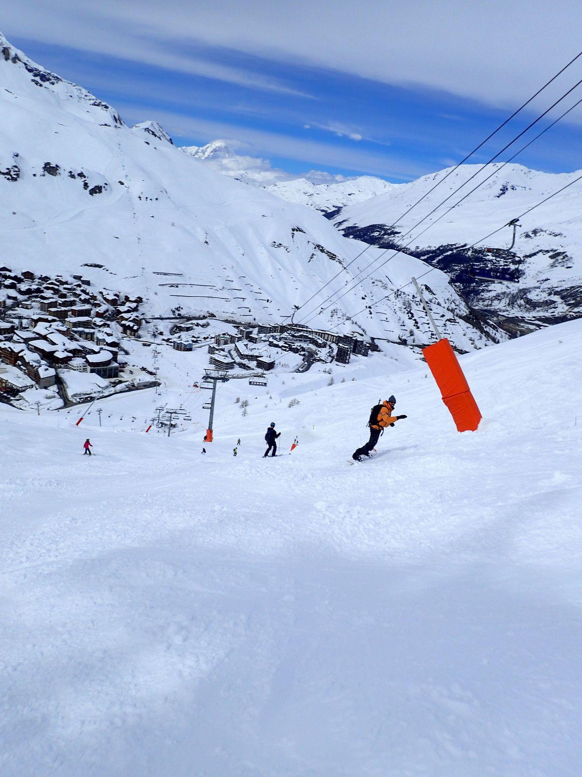 Snowboard à Tignes Val d'Isère 2/2