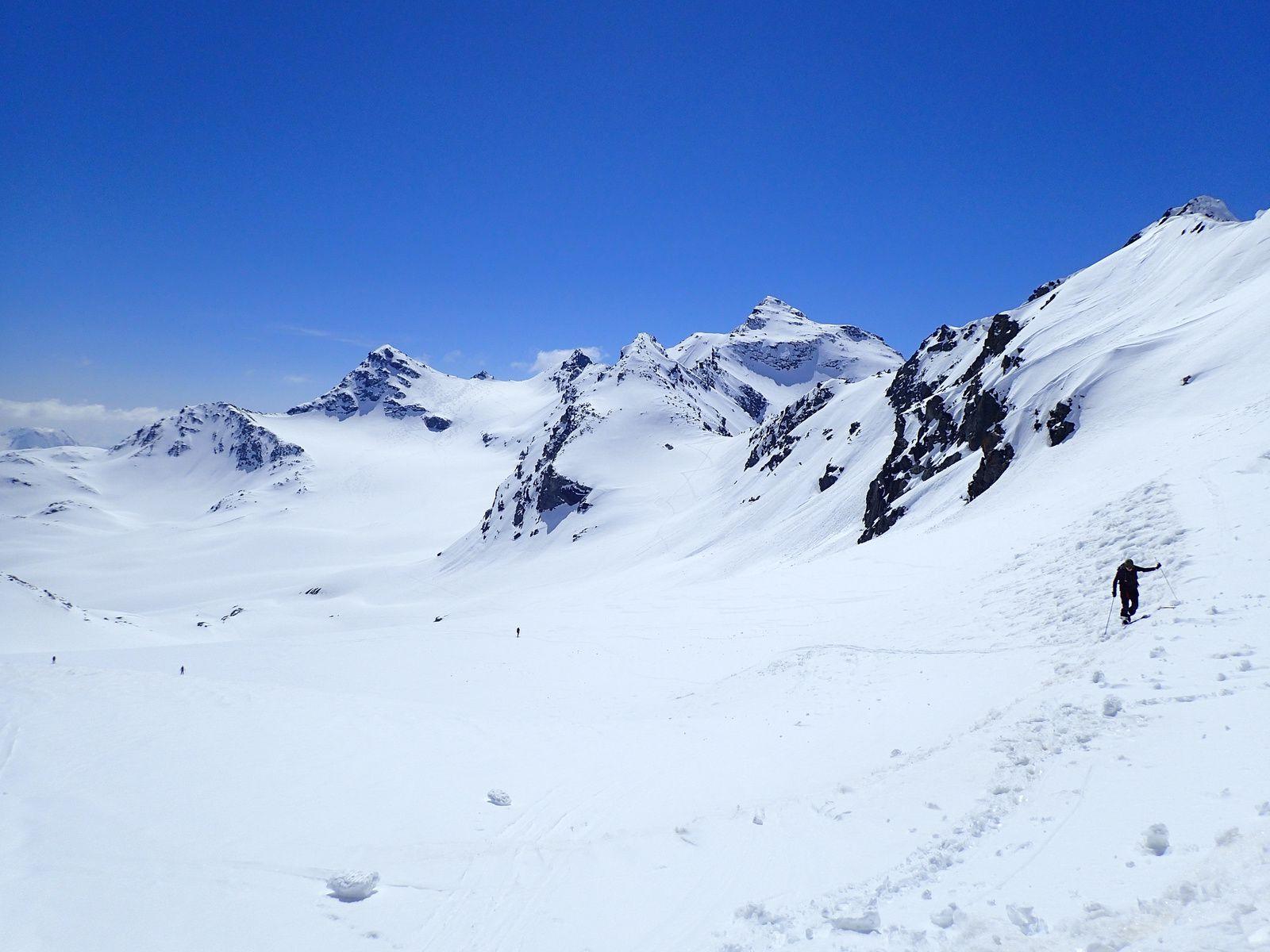 Pointe Renod - Sommet E, par le Glacier de Chavière, depuis Val Thorens 2/2