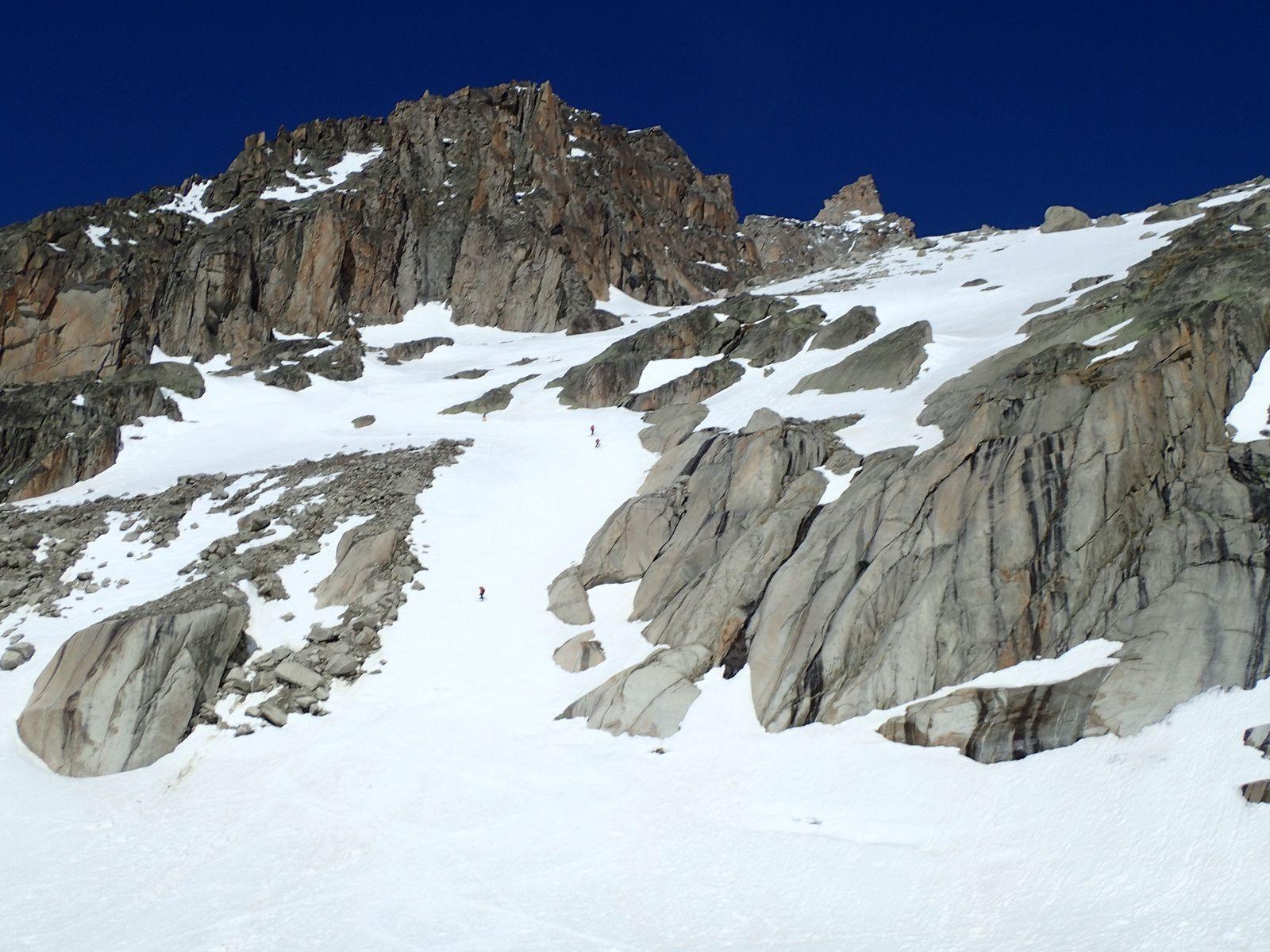 Aiguille d'Argentière: Par le Glacier du Milieu 3/3