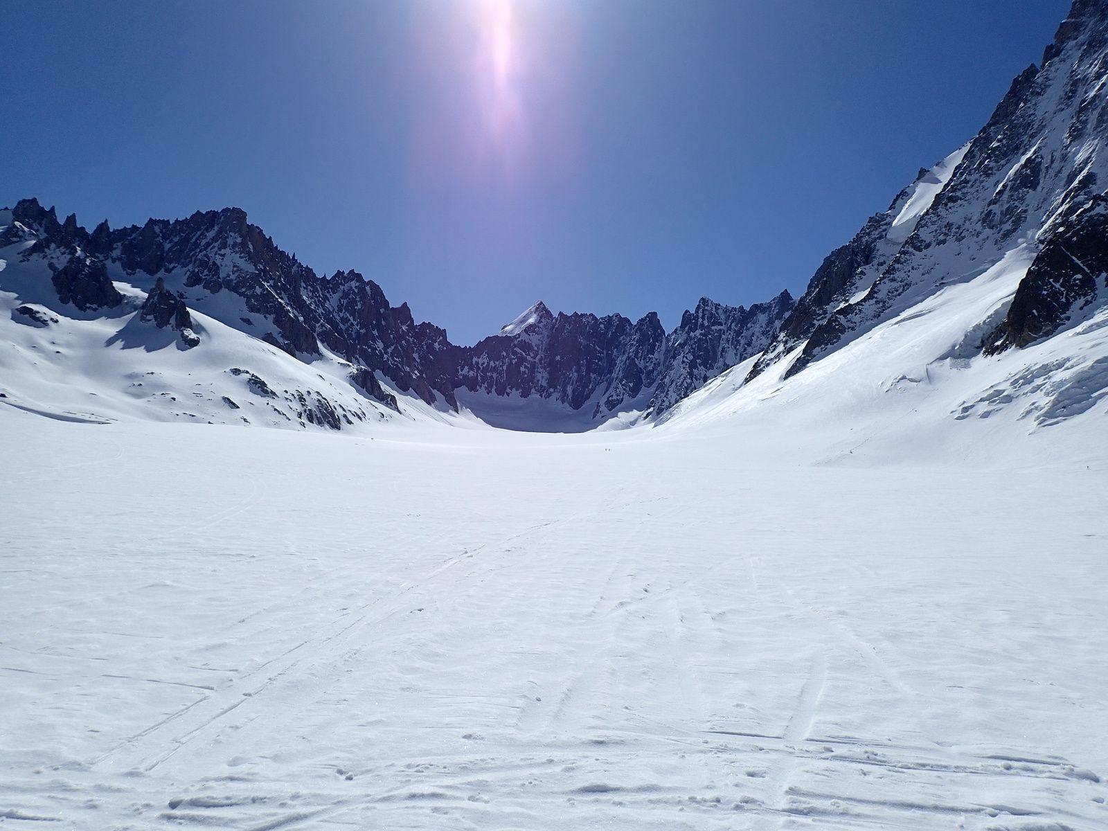 Aiguille d'Argentière: Par le Glacier du Milieu 1/3