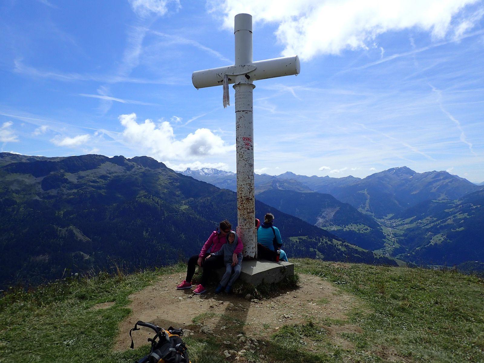 Mont Clocher: Depuis les Saisies (parking Col de la Legette)