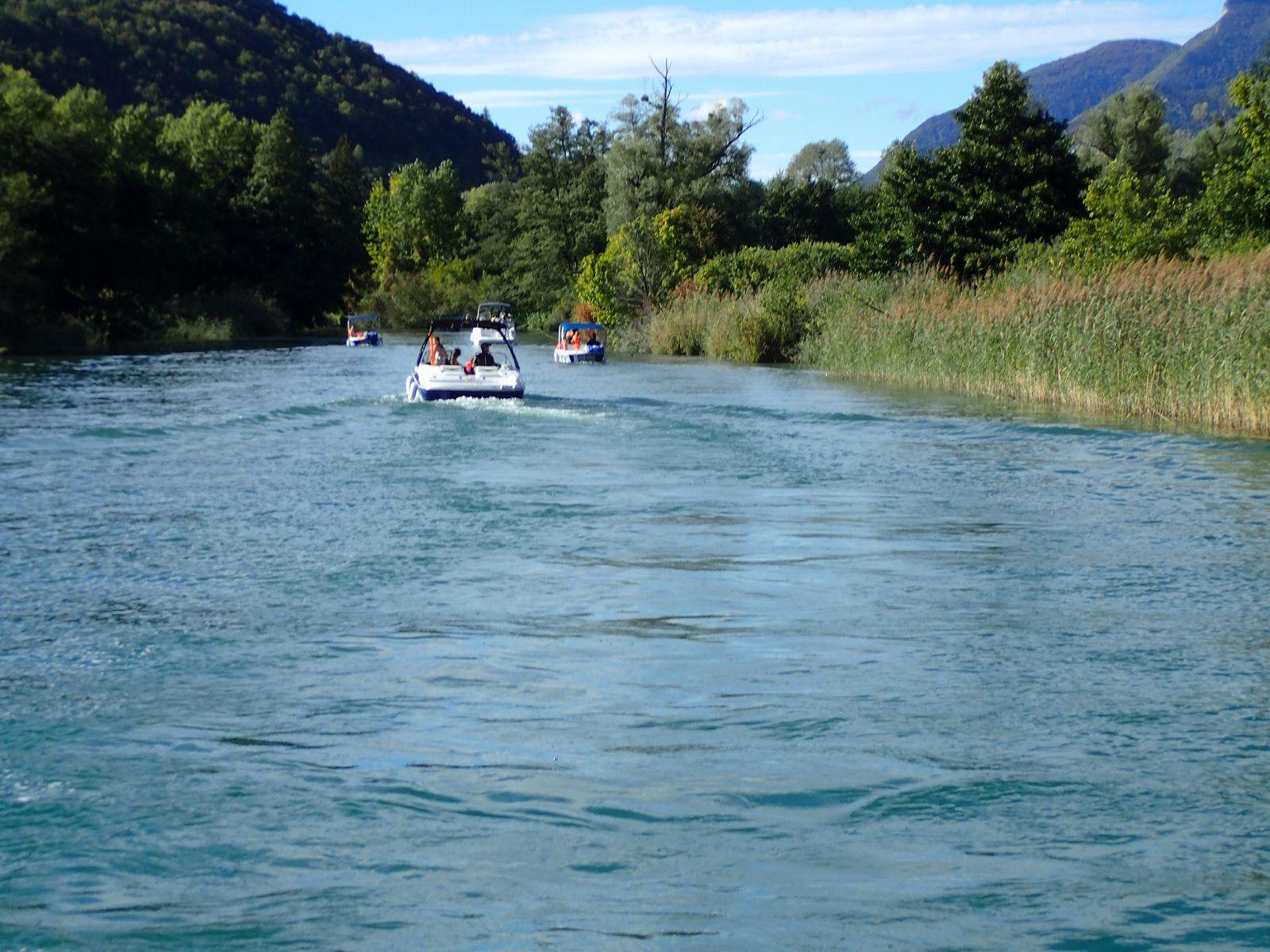 Croisière Lac du Bourget + Canal de Savières 1/2