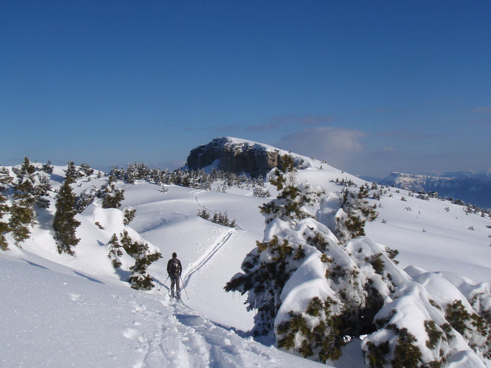 Mont Granier: Barres de Tencovaz 2/2