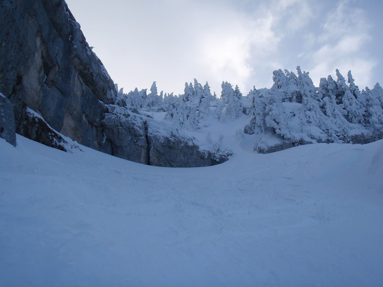 Mont Granier: Barres de Tencovaz 1/2