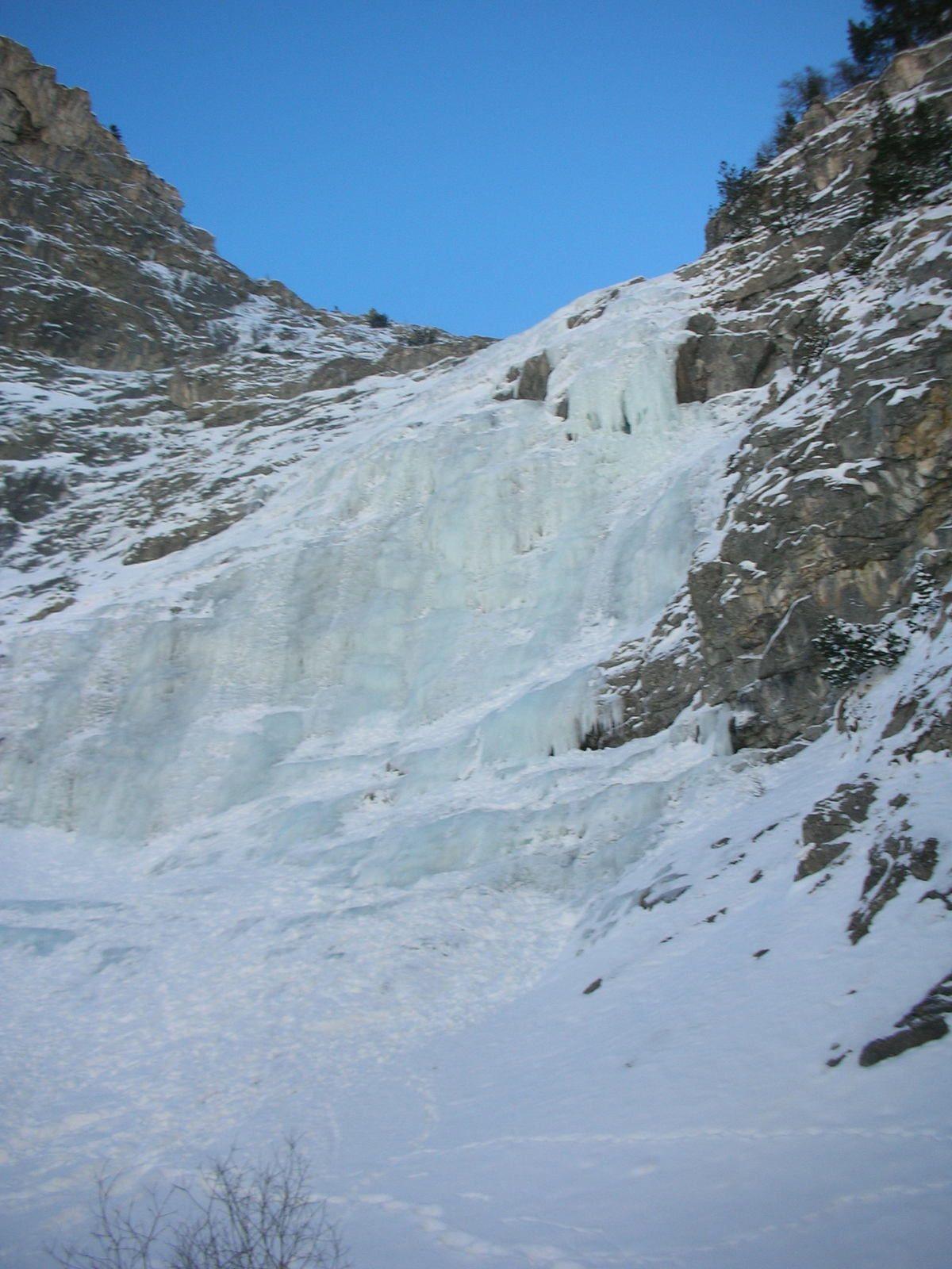 Val d'Isère: Cascade de la Daille