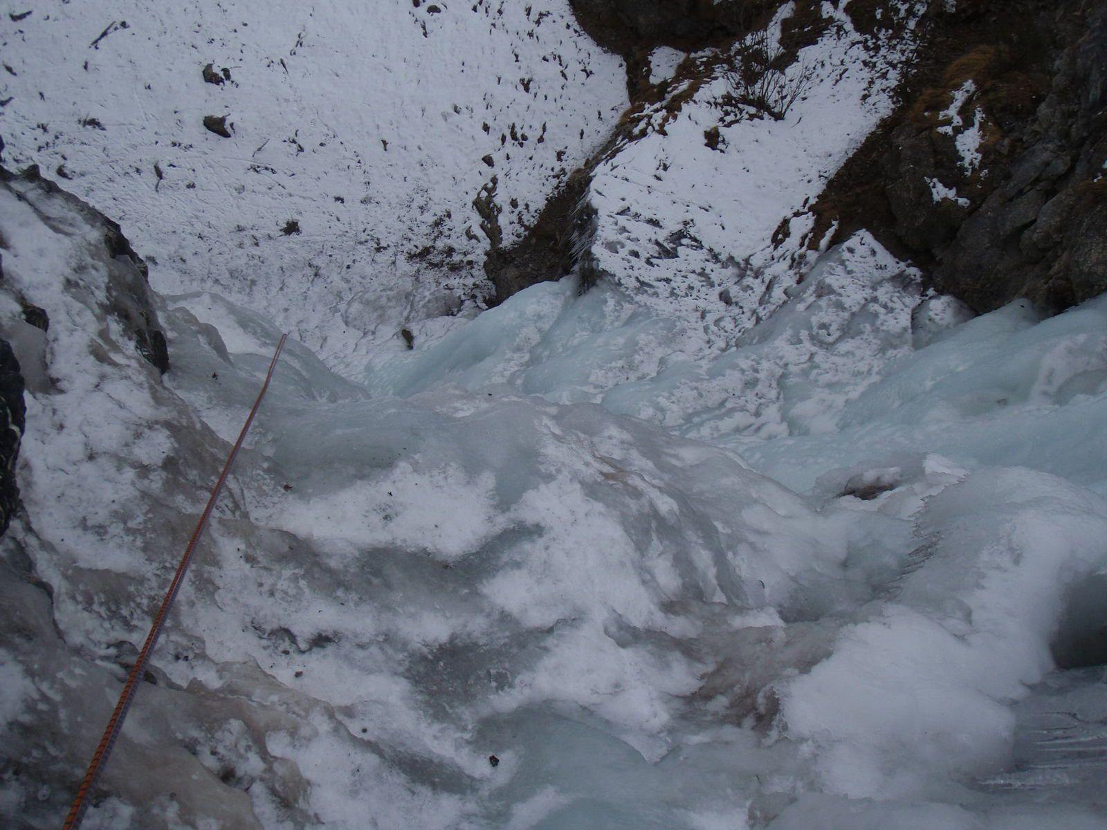 Cascade du Reposoir: Ligne de gauche
