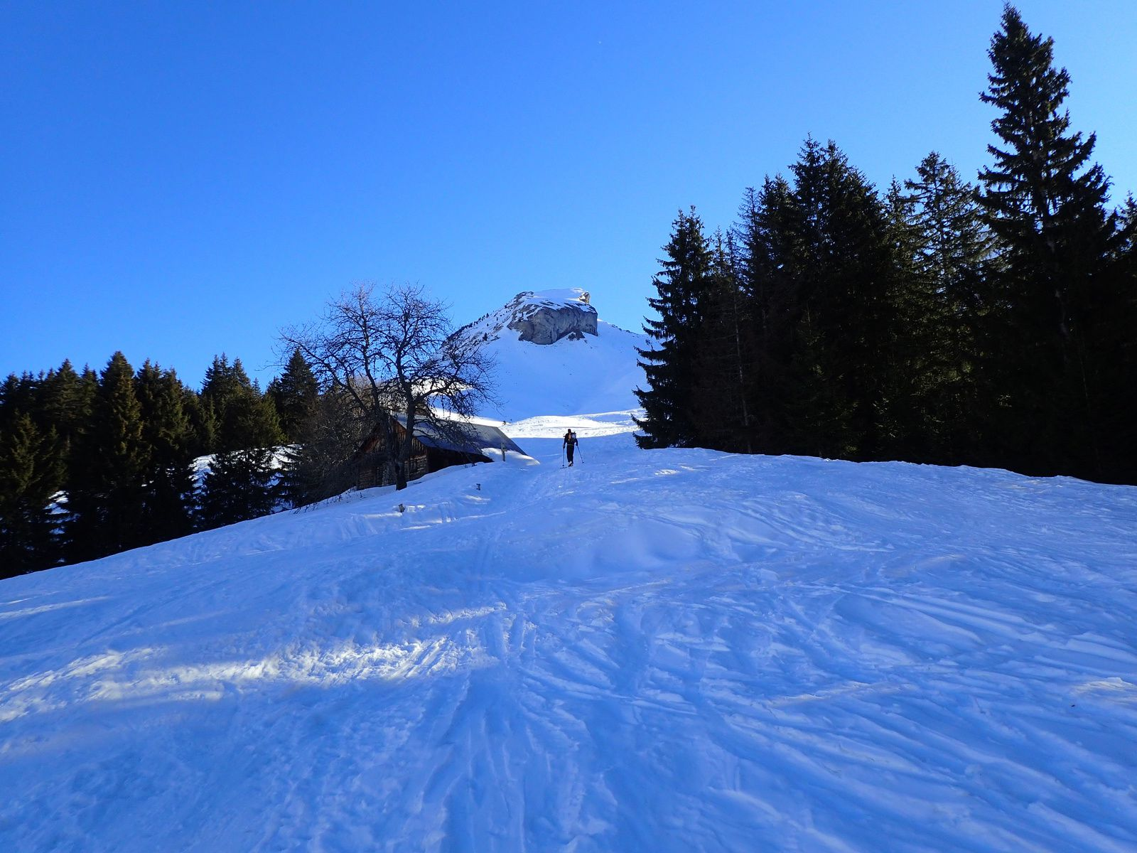 Mont Charvin: Combe Ouest 1/2