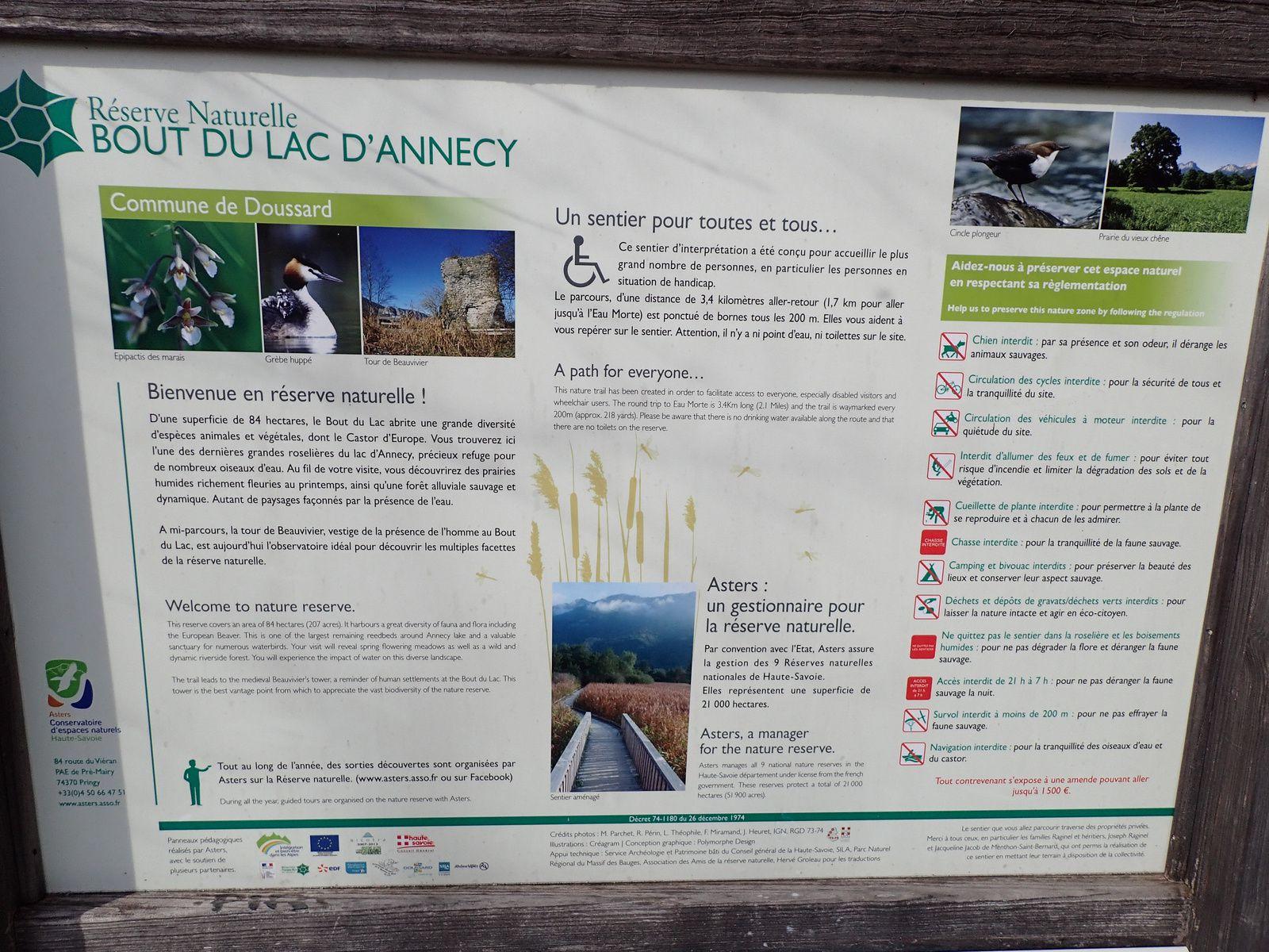 Annecy: Réserve du bout du lac 1/2