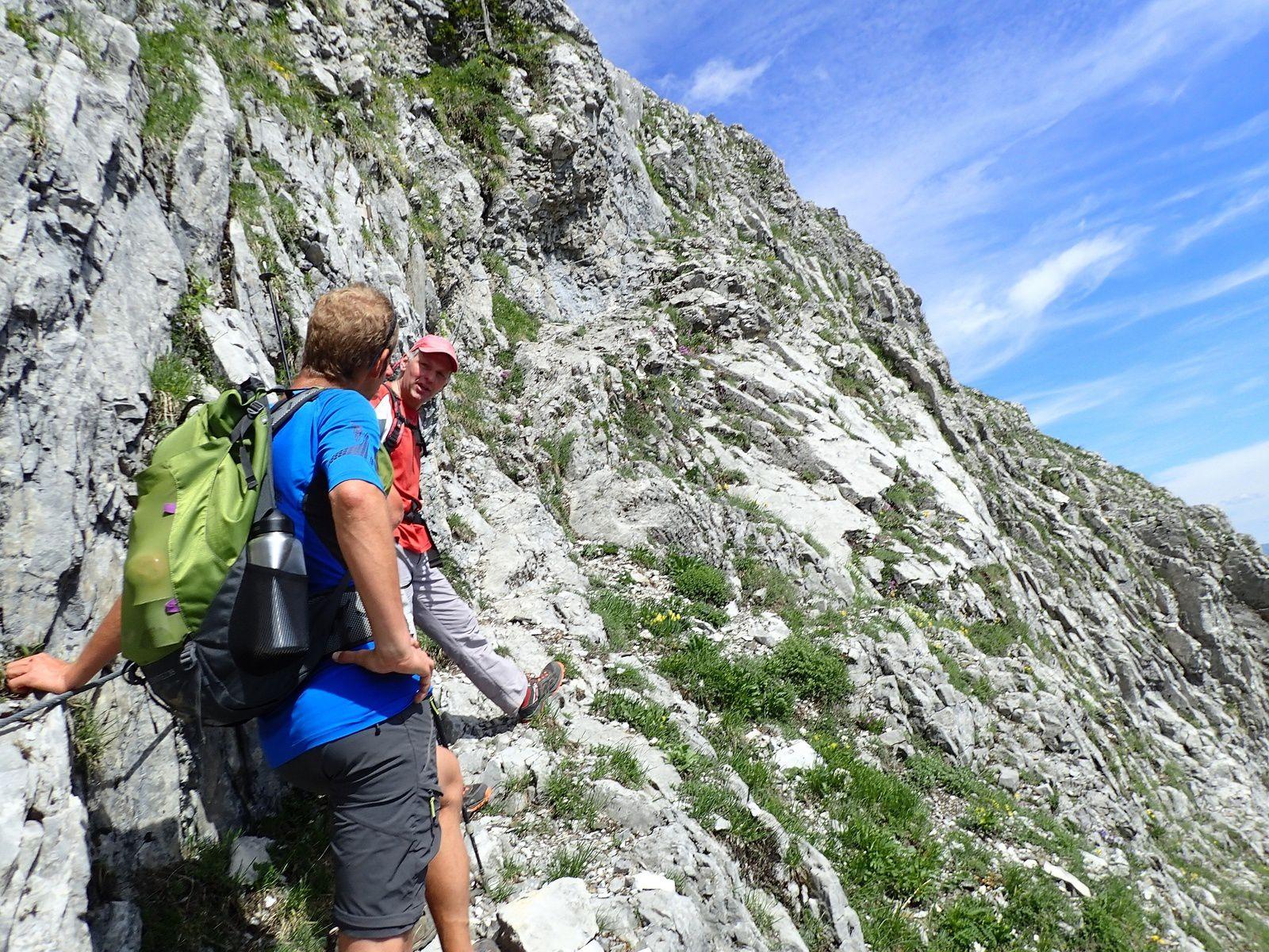 Pointe d'Areu (Arbenne) : Tour et sommet 1/3