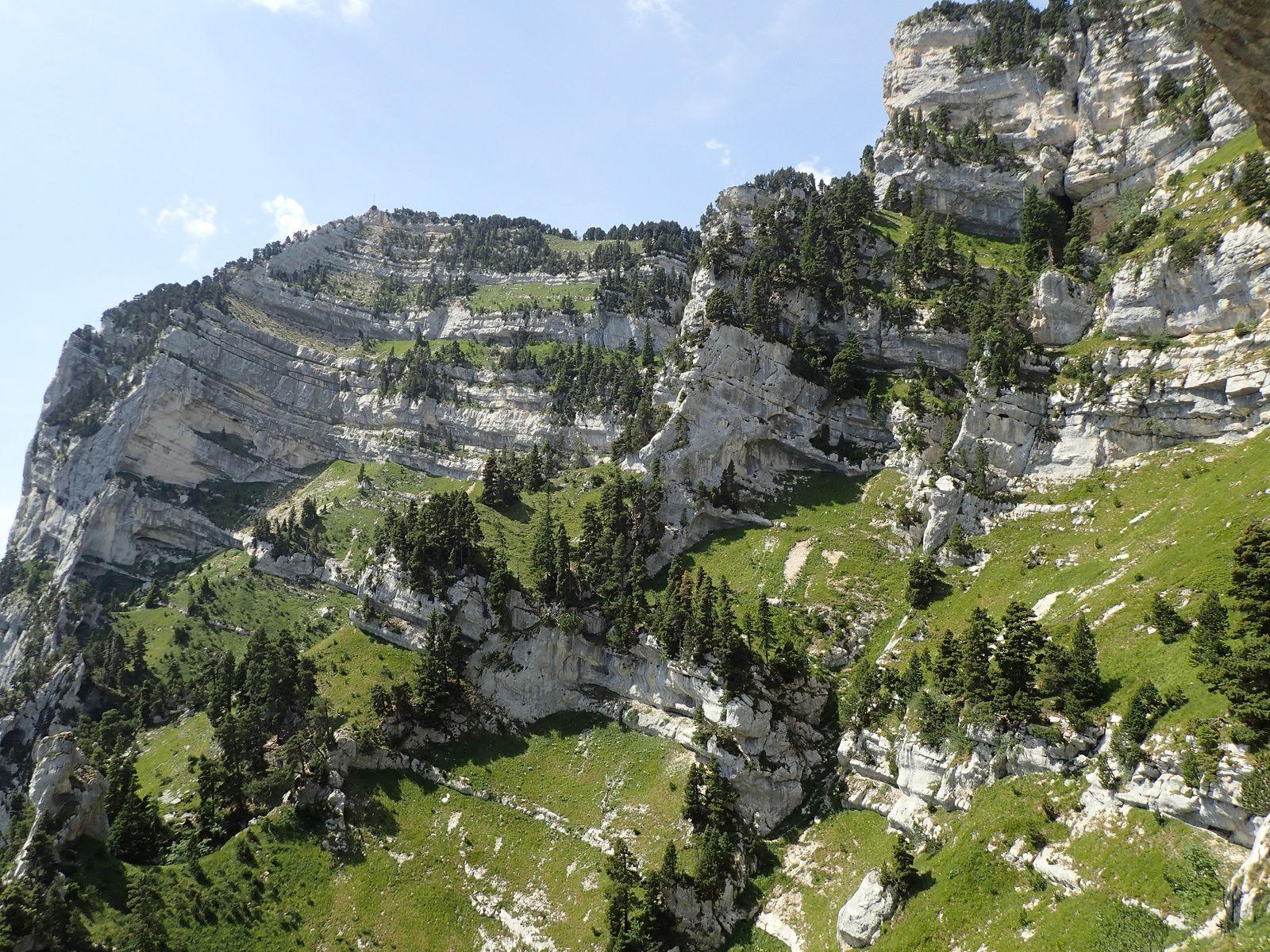 Tour Isabelle : Tour Percée; arches de Chartreuse et traversée du sangle 2/2