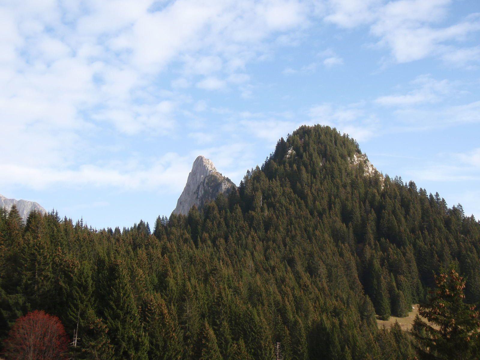 Mont Chauffé : Traversée des arêtes