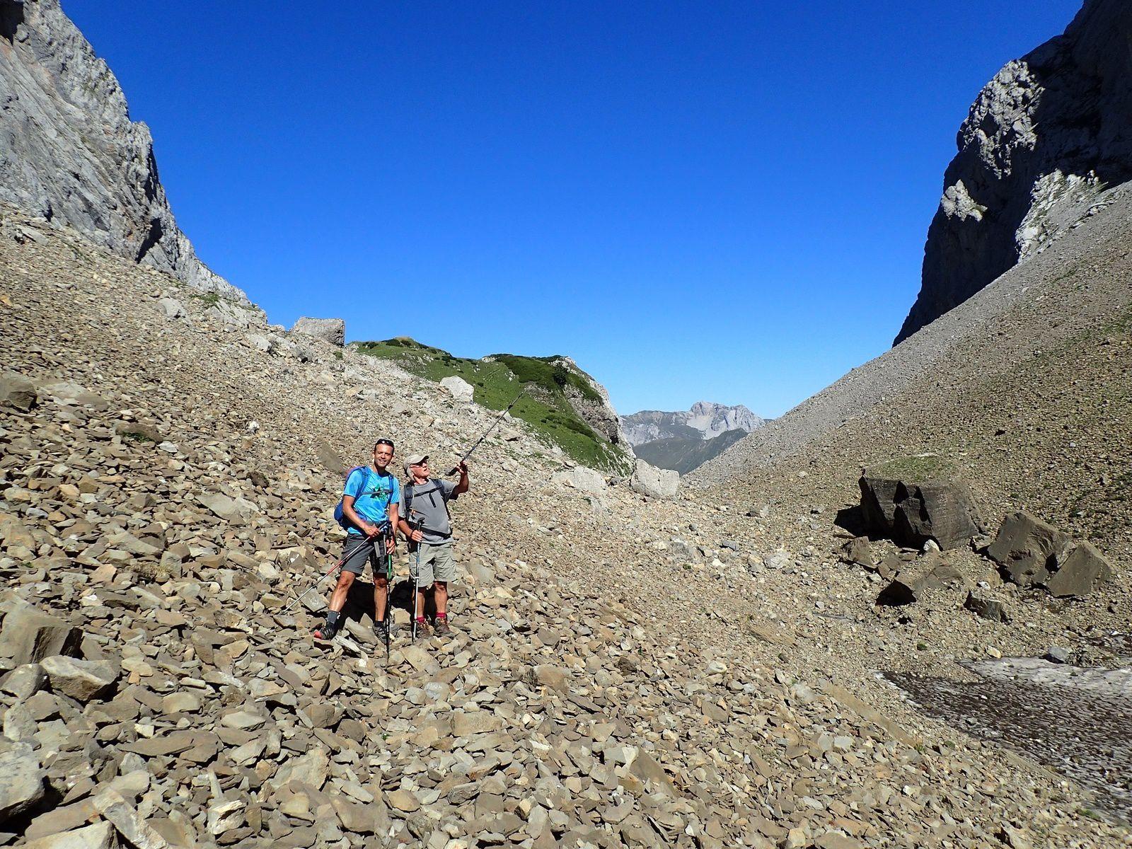 Mont Fleuri : Grande Forclaz > Tardevant; depuis les Confins 1/3